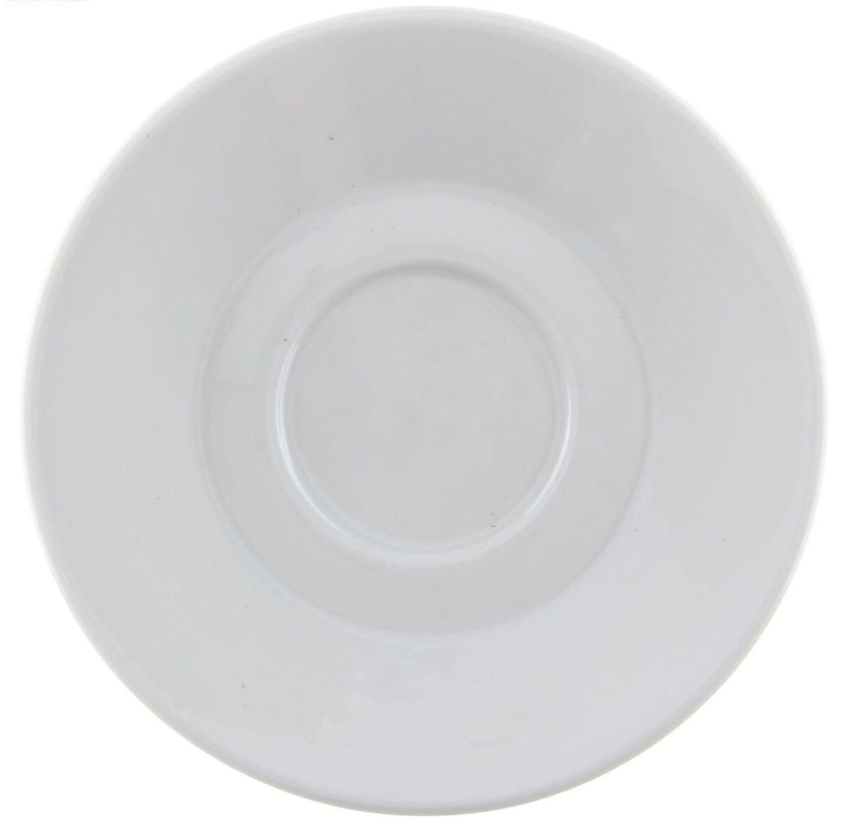 Блюдце кофейное Мокко. Белье, диаметр 11,5 см1303949