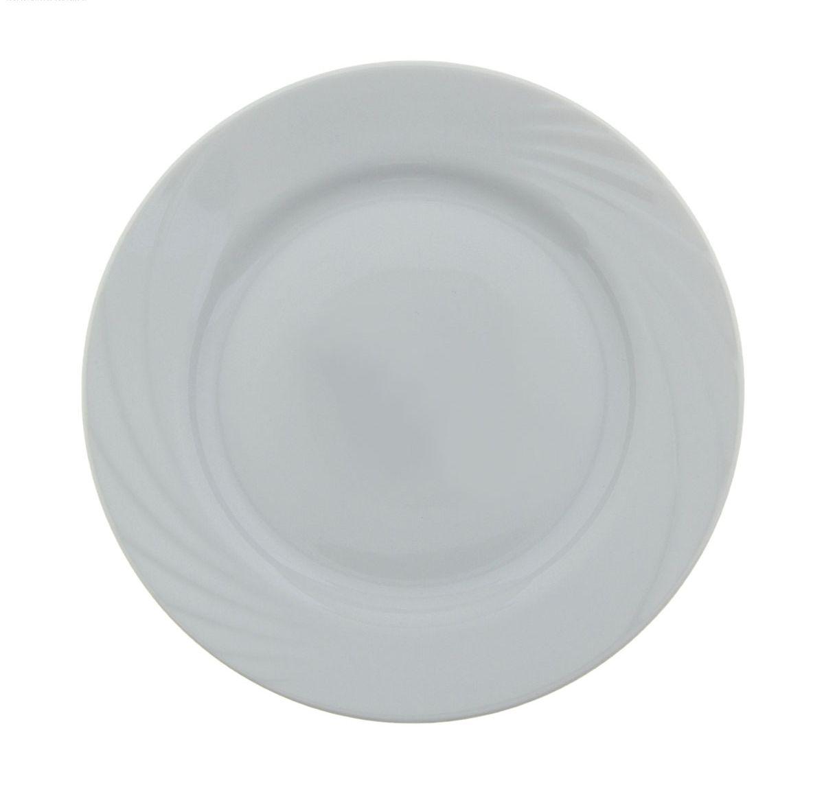 Тарелка мелкая Голубка. Белье, диаметр 17,5 см507897