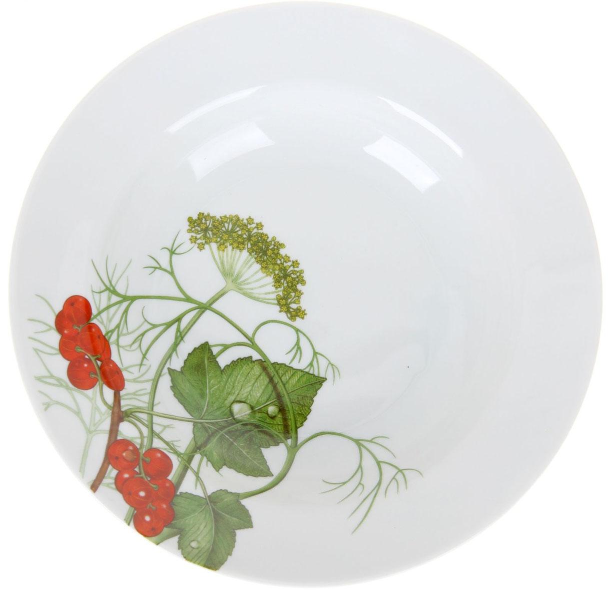 Тарелка глубокая Идиллия. Садочек, диаметр 20 см1224524