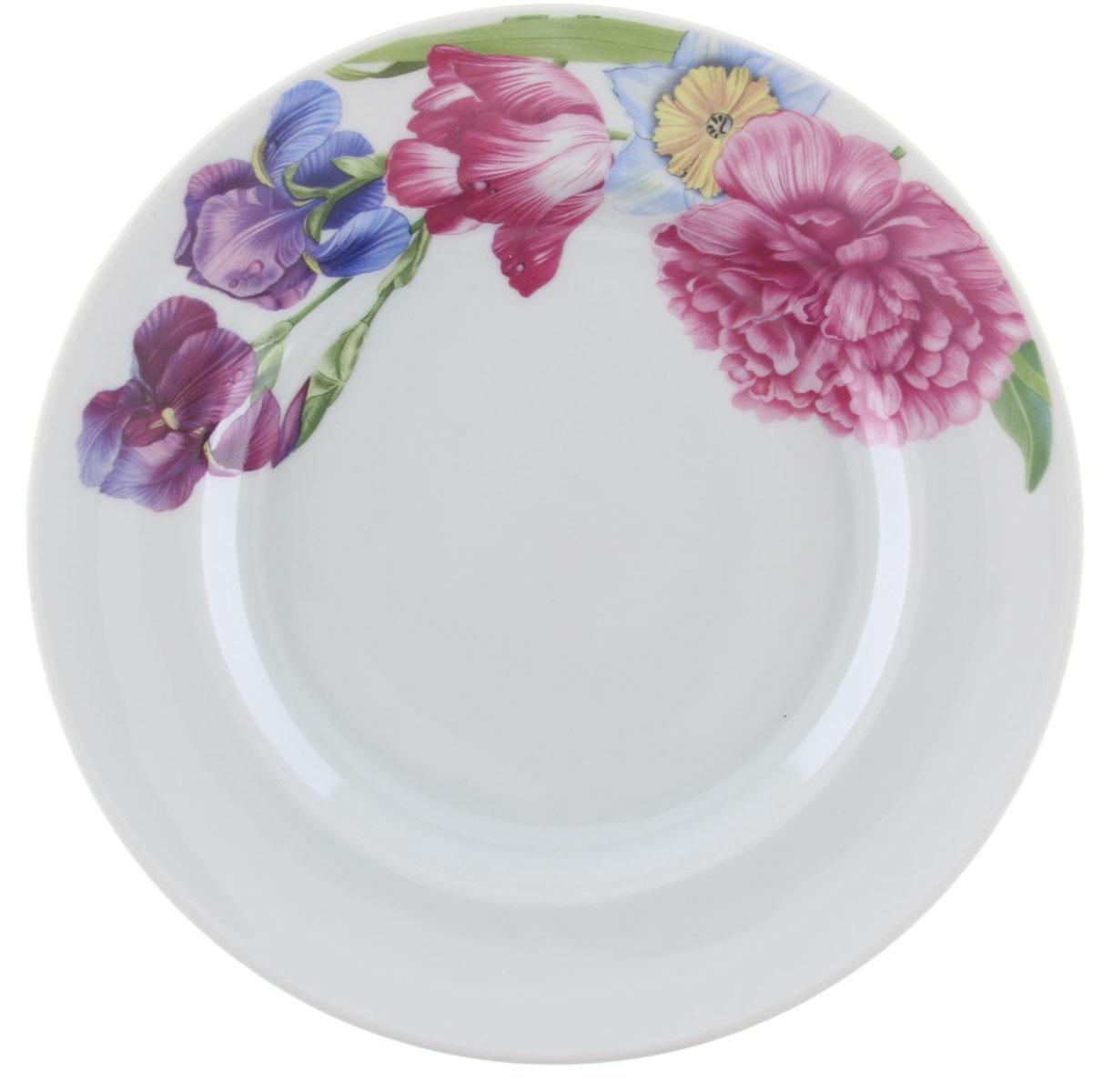 Тарелка мелкая Идиллия. Английская классика, диаметр 20 см1303788