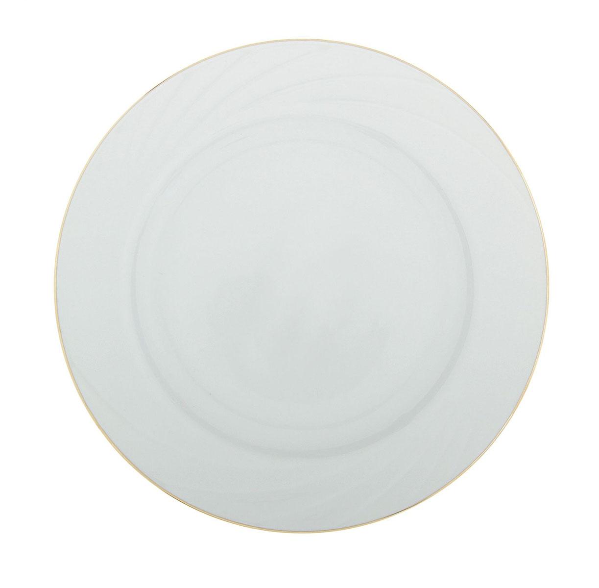 Тарелка мелкая Голубка, диаметр 20 см508001
