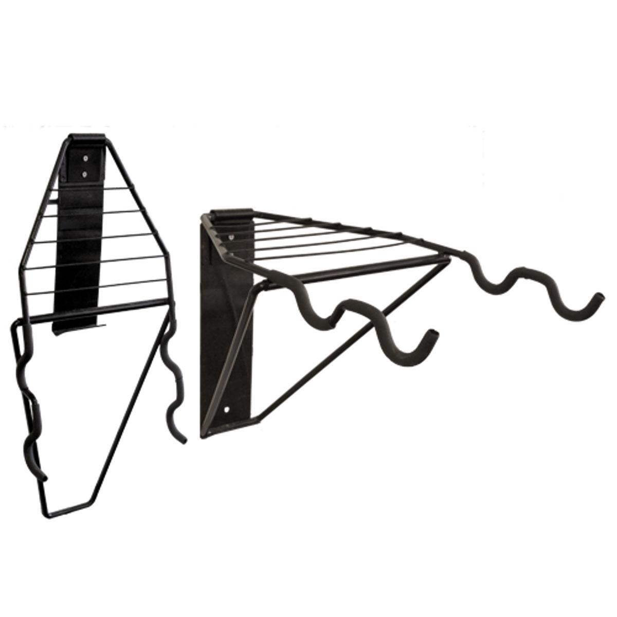 Подвесная система для 2-х велосипедов МастерПроф, горизонтальное хранениеАС.050009Отличная система для горизонтального хранения 2-х велосипедов с решёткой для хранения шлемов, перчаток, обуви и пр. Система складывается, когда не используется.