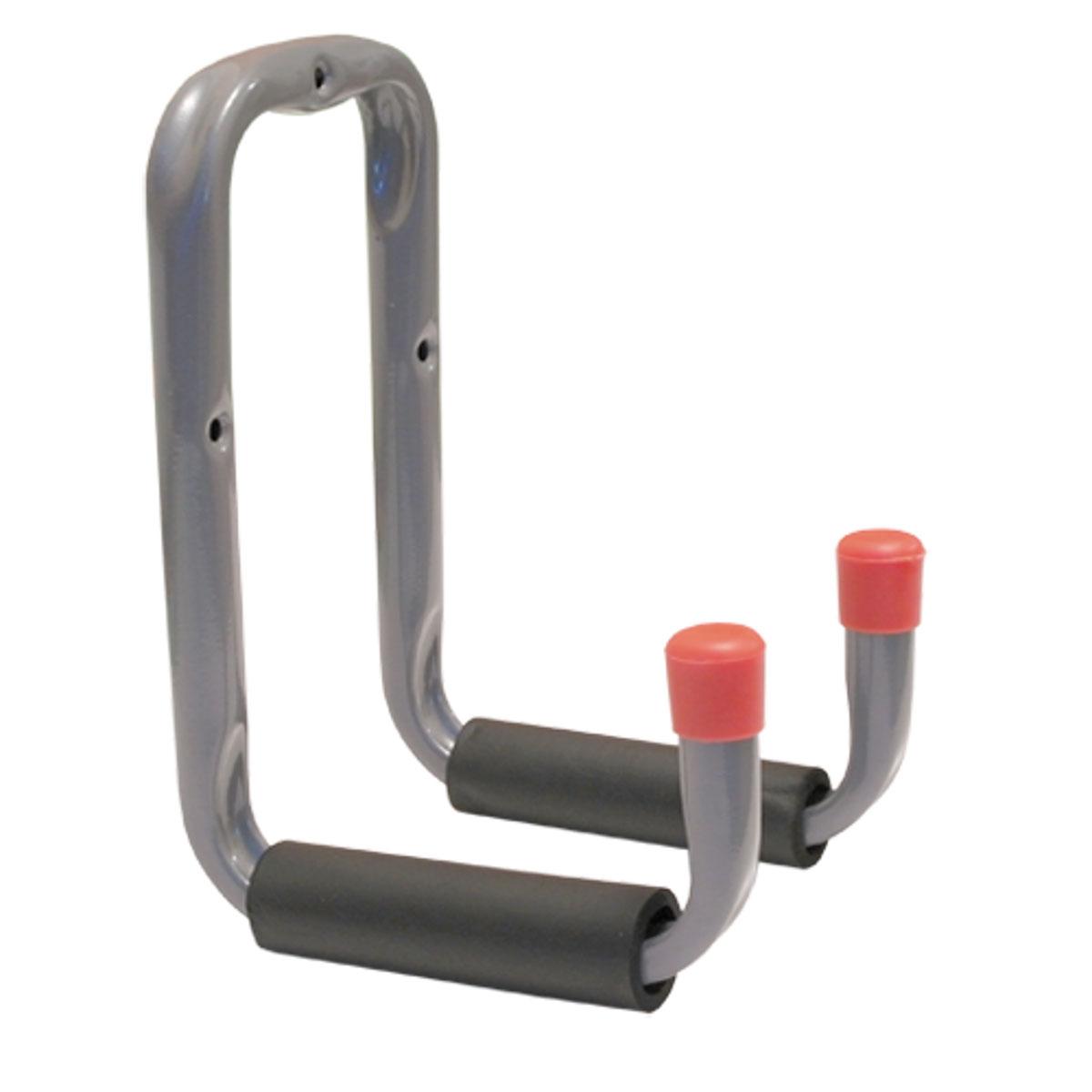 Кронштейн П-образный двойной МастерПрофТД.010015Двойной прочный кронштейн для хранения стремянок, спортивного оборудования, лестниц и прочего. Максимальная нагрузка 22,7 кг.
