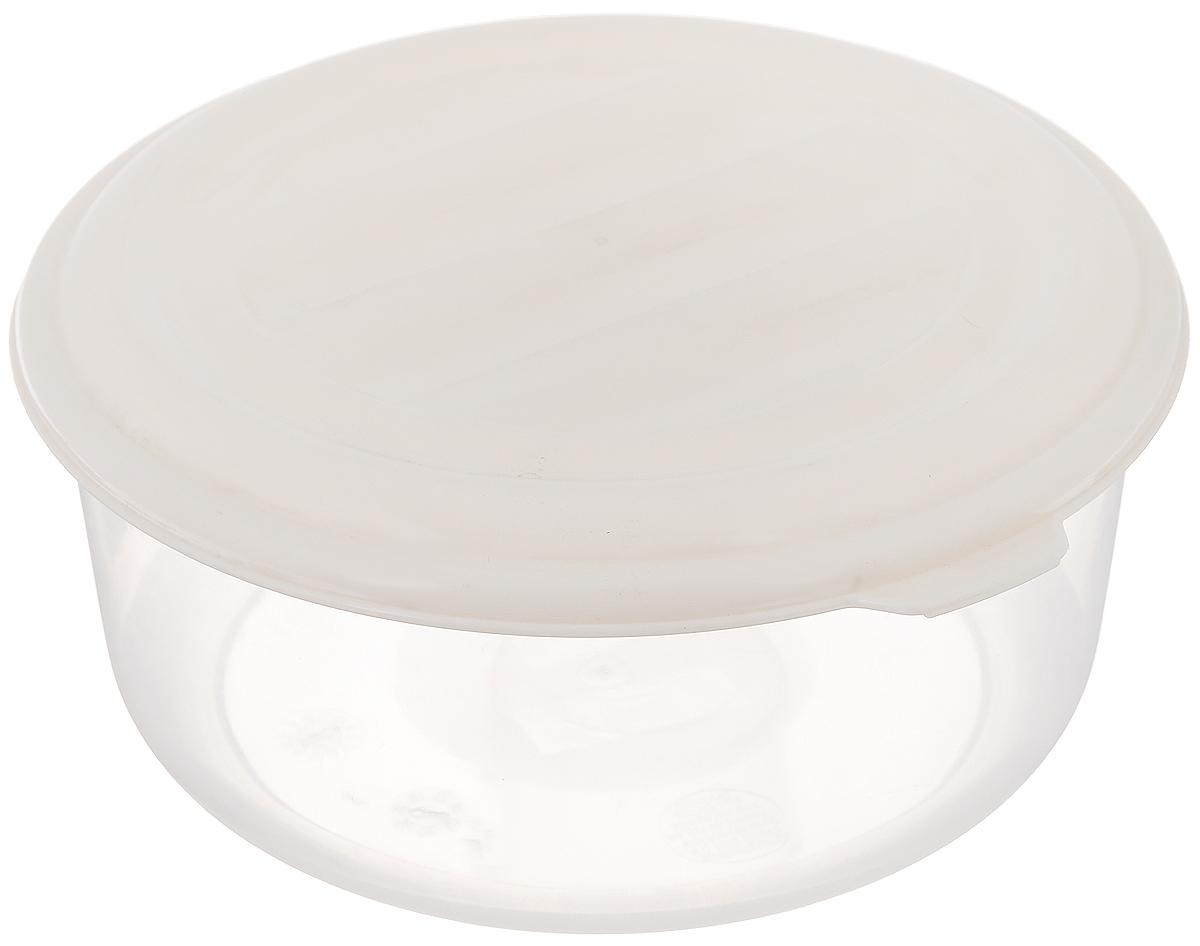 Контейнер для хранения продуктов Ucsan, цвет: прозрачный, молочный, 1,05 лM-603_прозрачный, молочныйКруглый контейнер Ucsan предназначен специально для хранения пищевых продуктов. Он выполнен из высококачественного полипропилена. Крышка легко и плотно закрывается. Контейнер устойчив к воздействию масел и жиров, легко моется. Прозрачные стенки позволяют видеть содержимое контейнера. Пищевые контейнеры необыкновенно удобны: в них можно брать еду на работу, за город, ребенку в школу. Подходит для использования в микроволновой печи и мытья в посудомоечной машине. Диаметр контейнера: 15,5 см. Высота контейнера (без учета крышки): 7 см.