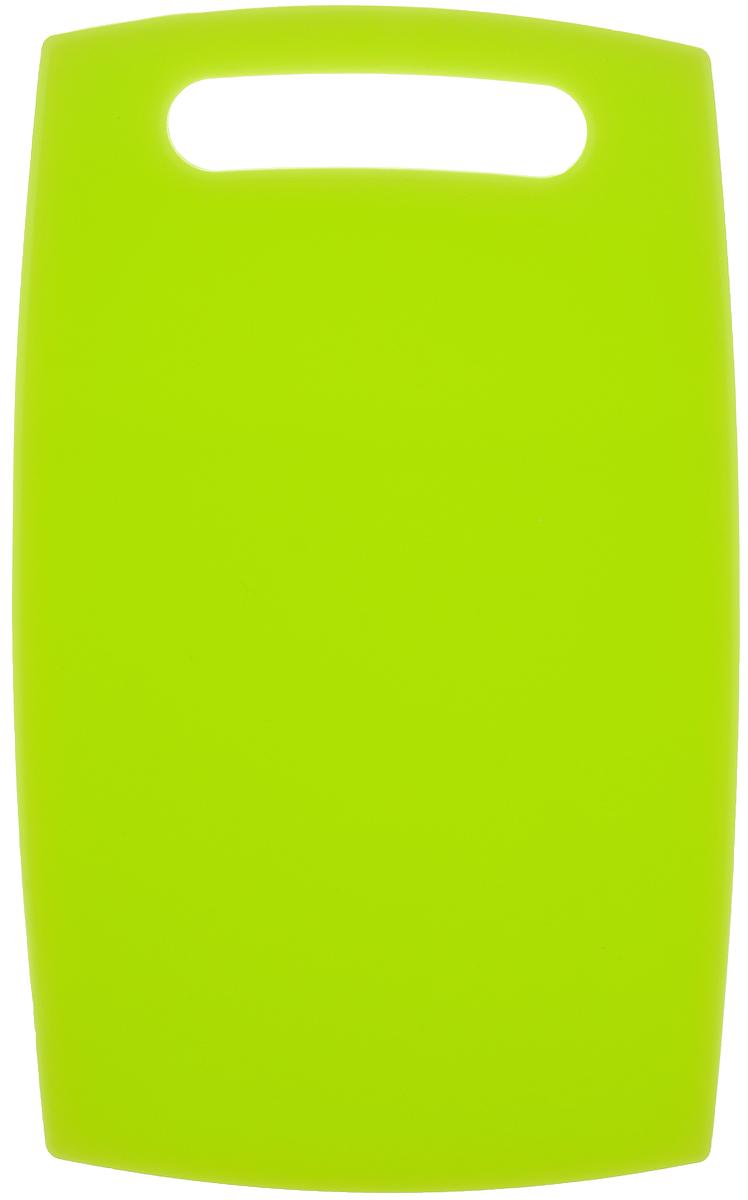 Доска разделочная Zeller, цвет: салатовый , 30 х 18 см26083_СалатовыйРазделочная доска Zeller изготовлена из высококачественного пищевого пластика. Доска гигиенична, обладает высокой прочностью, легко моется. Изделие снабжено удобной ручкой. Можно мыть в посудомоечной машине.