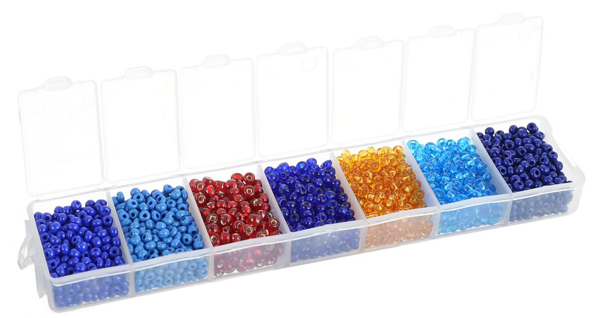 Набор бисера Preciosa Ассорти №40, 7 цветов, 90 г7704343_40Набор бисера Preciosa Ассорти №40 позволит вам своими руками создать оригинальные ожерелья, бусы или браслеты. Он идеально подойдет для вышивания на предметах быта и женской одежде. Набор включает в себя бисер разных размеров и цветов. Предметы набора упакованы в пластиковую коробочку с семью отсеками. Изготовление украшений - занимательное хобби и реализация творческих способностей рукодельницы, это возможность создания неповторимого индивидуального подарка.