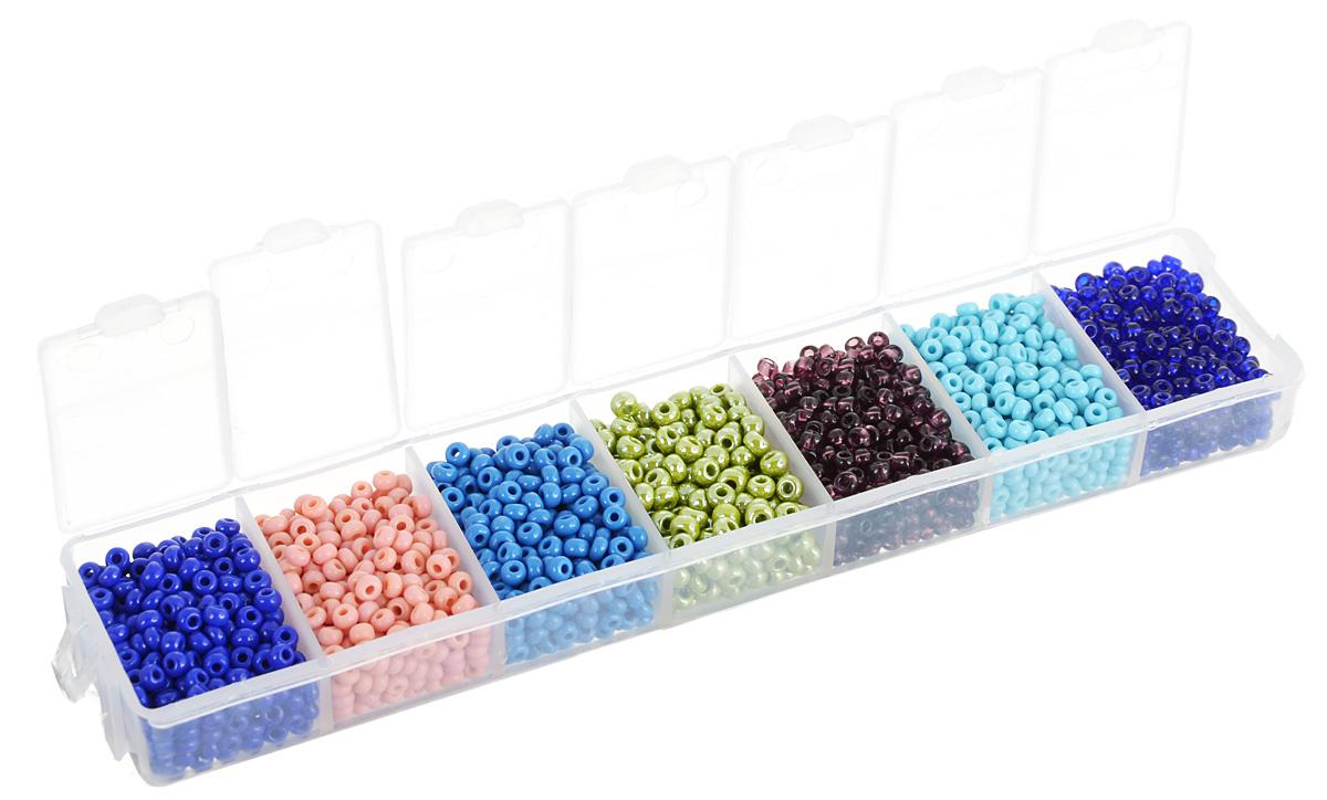 Набор бисера Preciosa Ассорти №38, 7 цветов, 90 г7704343_38Набор бисера Preciosa Ассорти №38 позволит вам своими руками создать оригинальные ожерелья, бусы или браслеты. Он идеально подойдет для вышивания на предметах быта и женской одежде. Набор включает в себя бисер разных размеров и цветов. Предметы набора упакованы в пластиковую коробочку с семью отсеками. Изготовление украшений - занимательное хобби и реализация творческих способностей рукодельницы, это возможность создания неповторимого индивидуального подарка.