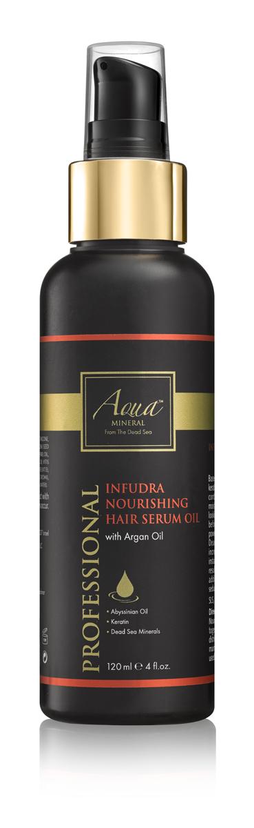 Aqua mineral Масло питательное для волос 120 мл0970Основанное на природных антиоксидантах , масле крамбе (абиссинская горчица) и комплексе кератина, масло смягчает и разглаживает волосы. Благодаря содержанию масла арганы, витамина Е и минералов Мертвого моря , известных своими омолаживающими свойствами, масло питает и увлажняет корни волос, делает их послушными, эластичными, гладкими и блестящими.