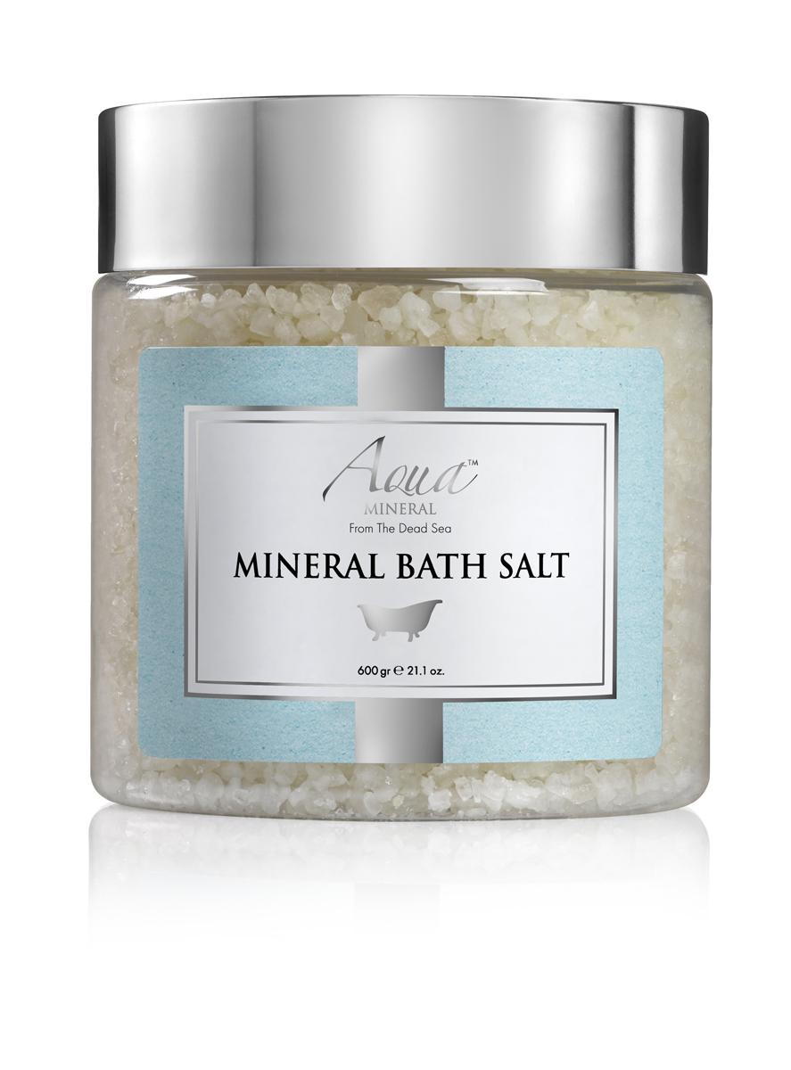 Aqua mineral Соль Мертвого моря кристаллическая натуральная 600 гр9270В течение сотен лет люди приезжали на Мертвое море, чтобы насладиться увлажняющими, лечебными и омолаживающими свойствами воды. Теперь вы можете принимать ванну с солью