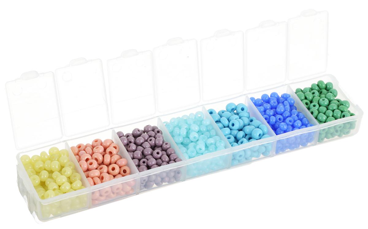 Набор бисера Preciosa Ассорти А2, 7 цветов, 90 г7704343_А2Набор бисера Preciosa Ассорти А2 позволит вам своими руками создать оригинальные ожерелья, бусы или браслеты. Он идеально подойдет для вышивания на предметах быта и женской одежде. Набор включает в себя бисер разных размеров и цветов. Предметы набора упакованы в пластиковую коробочку с семью отсеками. Изготовление украшений - занимательное хобби и реализация творческих способностей рукодельницы, это возможность создания неповторимого индивидуального подарка.