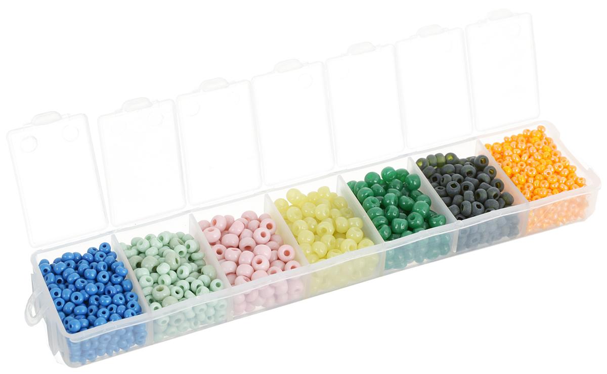 Набор бисера Preciosa Ассорти А20, 7 цветов, 90 г7704343_А20Набор бисера Preciosa Ассорти А20 позволит вам своими руками создать оригинальные ожерелья, бусы или браслеты. Он идеально подойдет для вышивания на предметах быта и женской одежде. Набор включает в себя бисер разных размеров и цветов. Предметы набора упакованы в пластиковую коробочку с семью отсеками. Изготовление украшений - занимательное хобби и реализация творческих способностей рукодельницы, это возможность создания неповторимого индивидуального подарка.
