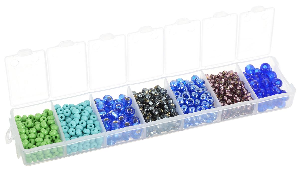 Набор бисера Preciosa Ассорти №23, 7 цветов, 90 г7704343_23Набор бисера Preciosa Ассорти №23 позволит вам своими руками создать оригинальные ожерелья, бусы или браслеты. Он идеально подойдет для вышивания на предметах быта и женской одежде. Набор включает в себя бисер разных размеров и цветов. Предметы набора упакованы в пластиковую коробочку с семью отсеками. Изготовление украшений - занимательное хобби и реализация творческих способностей рукодельницы, это возможность создания неповторимого индивидуального подарка.