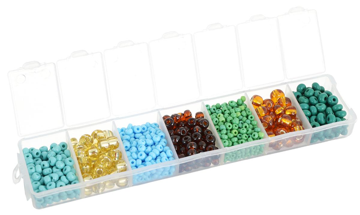 Набор бисера Preciosa Ассорти №39, 7 цветов, 90 г7704343_39Набор бисера Preciosa Ассорти №39 позволит вам своими руками создать оригинальные ожерелья, бусы или браслеты. Он идеально подойдет для вышивания на предметах быта и женской одежде. Набор включает в себя бисер разных размеров и цветов. Предметы набора упакованы в пластиковую коробочку с семью отсеками. Изготовление украшений - занимательное хобби и реализация творческих способностей рукодельницы, это возможность создания неповторимого индивидуального подарка.