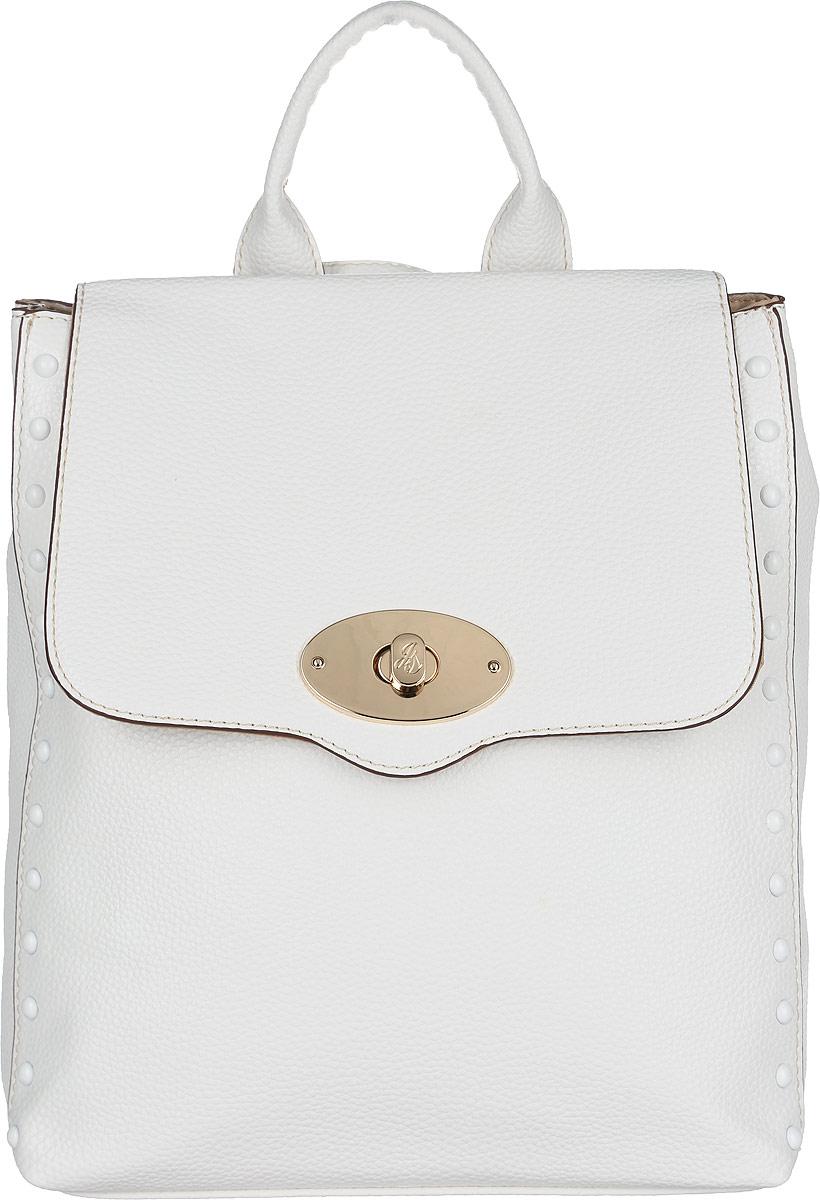 Сумка-рюкзак женская Jane Shilton, цвет: белый. 2074