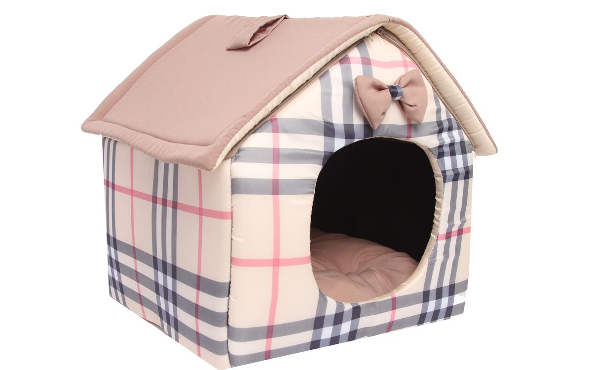 Домик для собак Lion Manufactory Будка, цвет: бежевый, размер S, 35 х 33 х 35 смLM4140-001sРекомендации: стирка в деликатном режиме 30 градусов. Материал: хб ткань, поролон, нейлон. Размер лежанки: 350х330х350 мм. Размер спального места: 310х280 мм.