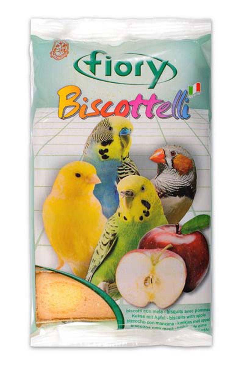 Бисквиты для птиц Fiory Biscottelli, с яблоком, 30 г2005FIORY Biscuits with apples бисквиты для птиц с яблоком. Аппетитные бисквитные печенья с яблоком – прекрасное лакомство для домашних птиц. Порадуйте вашу птичку ароматными бисквитами, в состав которых входят злаки, помогающие пищеварению вашего питомца.Содержат яйца, сахар, молоко, яблоки. Ингредиенты: злаки, яйцо и его производные (30%), сахар (27%), яблоко (4,1%), содержащиеся антиоксиданты одобрены Советом Европы.