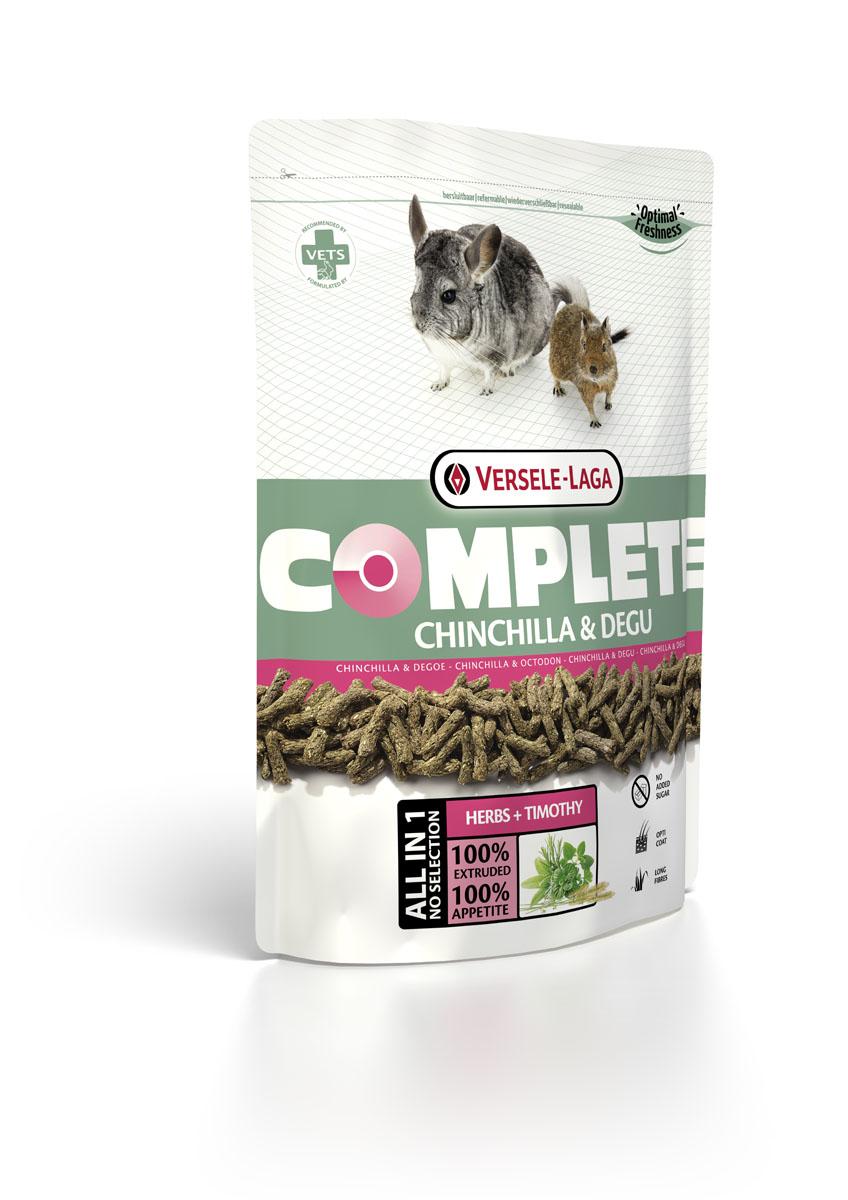 Корм для шиншилл и дегу Versele-Laga Complete Chinchilla & Degu, 1,75 кг461313Полноценный и вкусный корм для шиншилл и дегу, состоящий на 100% из легкоусваиваемых, экструдированных гранул. Натуральное и сбалансированние питание, без добавления сахара. Содержит семя льна - источник Омега-3 жирных кислот для здоровой шерсти. Цельные длинные волокна люцерны, тимофеевки и других трав способствуют оптимальному пищеварению. Протеины 17%, Жиры 3%, Сырая клетчатка 20%, Сырая зола 7%, Кальций 0,8%, Фосфор 0,6%, Витамин А 25.000 МЕ/кг, Витамин D3 2.000 МЕ/кг, Витамин E 150 мг/кг, Витамин C 50 мг/кг, Сульфат меди (II) 20 мг/кг, Таурин 2.000 мг/кг, Бета-каротин 10 мг/кг.