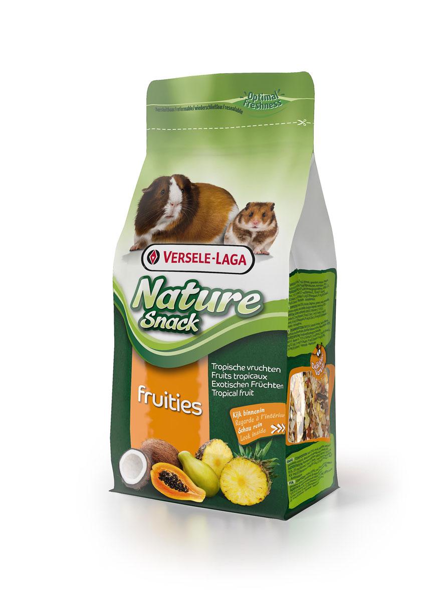 Лакомство для всех грызунов Versele-Laga Nature Snack Fruities, с дикими фруктами и семенами, 85 г462002Вкусная и здоровая смесь для всех грызунов, которая идеально дополняет рацион питомца. Содержит ананас, папайя, плоды рожкового дерева, кокос, абрикос и др. Состав: Фрукты (35%), злаки, овощи, семена, орехи, продукты растительного происхождения, экстракты растительных белков, минералы, ФОС. Добавки/кг: 6000 М.Е. вит. А, 1125 М.Е. вит. D3, 25 мг вит. Е, 10 мг Е1 (Железо), 1 мг Е2 (Йод), 5 мг Е4 (Медь), 43 мг Е5 (Марганец), 41 мг Е6 (Цинк), 0,14 мг Е8 (Селене)- Красители - Антиоксиданты.
