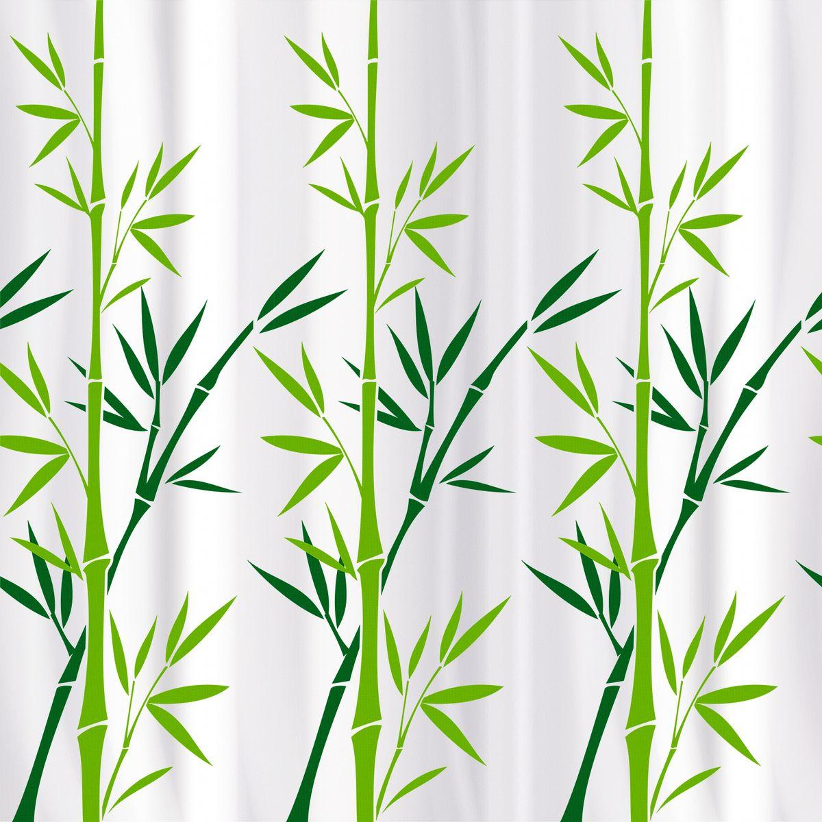 Штора для ванной Tatkraft Bamboo Green Textile, с водоотталкивающей пропиткой18013Tatkraft BAMBOO GREEN TEXTILE Тканевая штора для ванной комнаты. • Изделие имеет специальную водоотталкивающую пропитку и антигрибковое покрытие. • Штора быстро сохнет, легко моется и обладает повышенной износостойкостью. • В комплекте также имеется 12 пластиковых овальных колец. • Штора оснащена магнитами-утяжелителями для лучшей фиксации. • Мягкая и приятная на ощупь штора для ванной Tatkraft порадует вас своим ярким дизайном и добавит уюта в ванную комнату. • Можно стирать в стиральной машине при температуре 40°С.