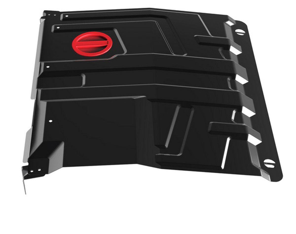 Защита картера и КПП Автоброня, для Datsun Mi-DO/On-DO/Lada Granta/Kalina. 1.06016.11.06016.1Технологически совершенный продукт за невысокую стоимость. Защита разработана с учетом особенностей днища автомобиля, что позволяет сохранить дорожный просвет с минимальным изменением. Защита устанавливается в штатные места кузова автомобиля. Глубокий штамп обеспечивает до двух раз больше жесткости в сравнении с обычной защитой той же толщины. Проштампованные ребра жесткости препятствуют деформации защиты при ударах. Тепловой зазор и вентиляционные отверстия обеспечивают сохранение температурного режима двигателя в норме. Скрытый крепеж предотвращает срыв крепежных элементов при наезде на препятствие. Шумопоглощающие резиновые элементы обеспечивают комфортную езду без вибраций и скрежета металла, а съемные лючки для слива масла и замены фильтра - экономию средств и время. Конструкция изделия не влияет на пассивную безопасность автомобиля (при ударе защита не воздействует на деформационные зоны кузова). Со штатным крепежом. В комплекте инструкция по...
