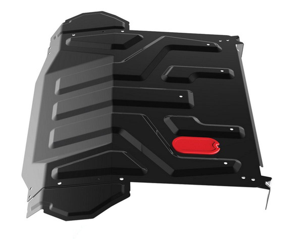 Защита картера и КПП Автоброня для Lada 2110 1995-2007/Priora 2007-н.в., сталь 2 мм, без крепежа. 1.06018.1 ( 1.06018.1 )
