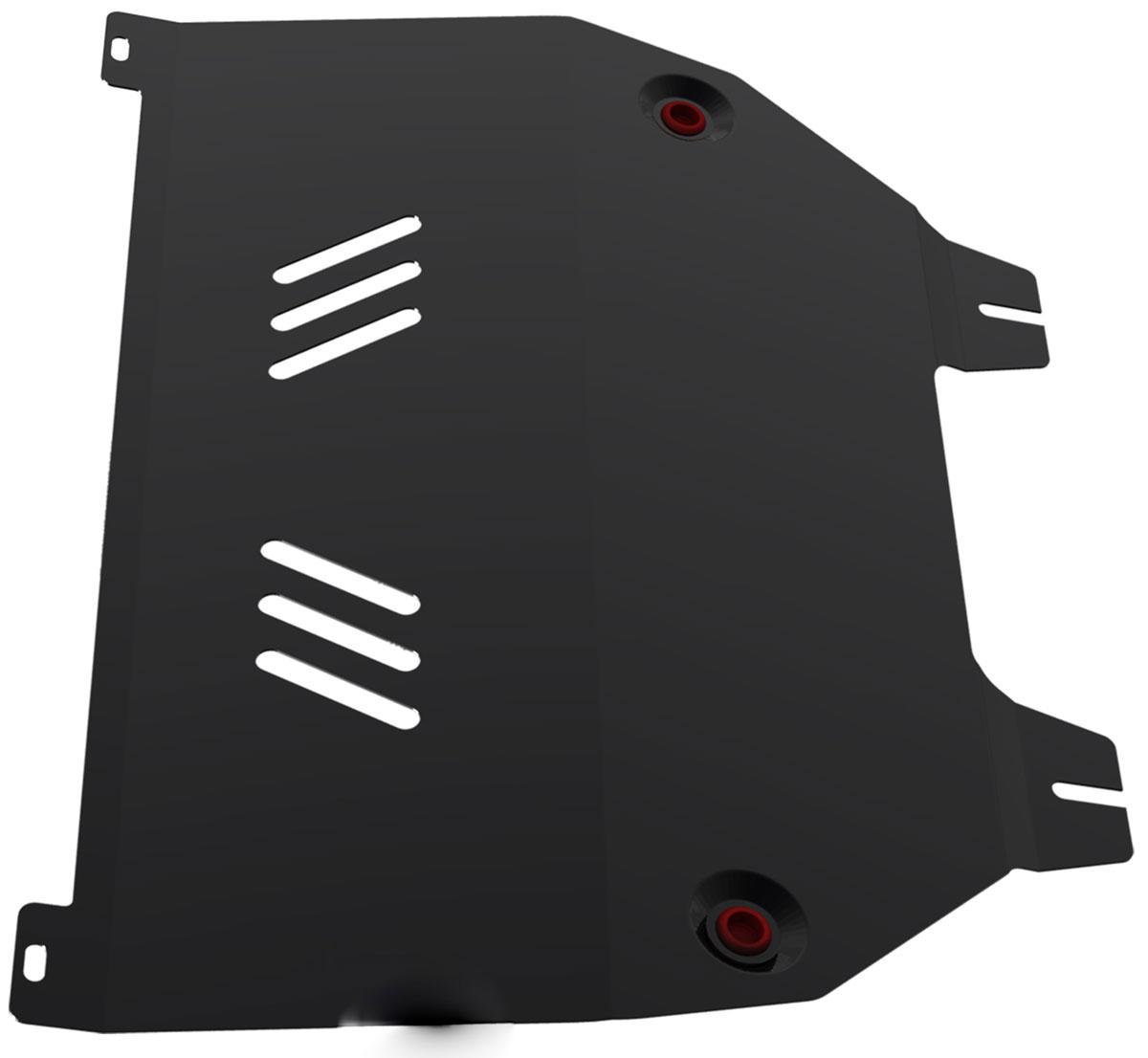 Защита картера и КПП Автоброня, для Citroen C4/C4 Picasso/Peugeot 308/408. 111.01203.2111.01203.2Технологически совершенный продукт за невысокую стоимость. Защита разработана с учетом особенностей днища автомобиля, что позволяет сохранить дорожный просвет с минимальным изменением. Защита устанавливается в штатные места кузова автомобиля. Глубокий штамп обеспечивает до двух раз больше жесткости в сравнении с обычной защитой той же толщины. Проштампованные ребра жесткости препятствуют деформации защиты при ударах. Тепловой зазор и вентиляционные отверстия обеспечивают сохранение температурного режима двигателя в норме. Скрытый крепеж предотвращает срыв крепежных элементов при наезде на препятствие. Шумопоглощающие резиновые элементы обеспечивают комфортную езду без вибраций и скрежета металла, а съемные лючки для слива масла и замены фильтра - экономию средств и времени. Конструкция изделия не влияет на пассивную безопасность автомобиля (при ударе защита не воздействует на деформационные зоны кузова). Толщина стали: 2 мм. В комплекте набор...