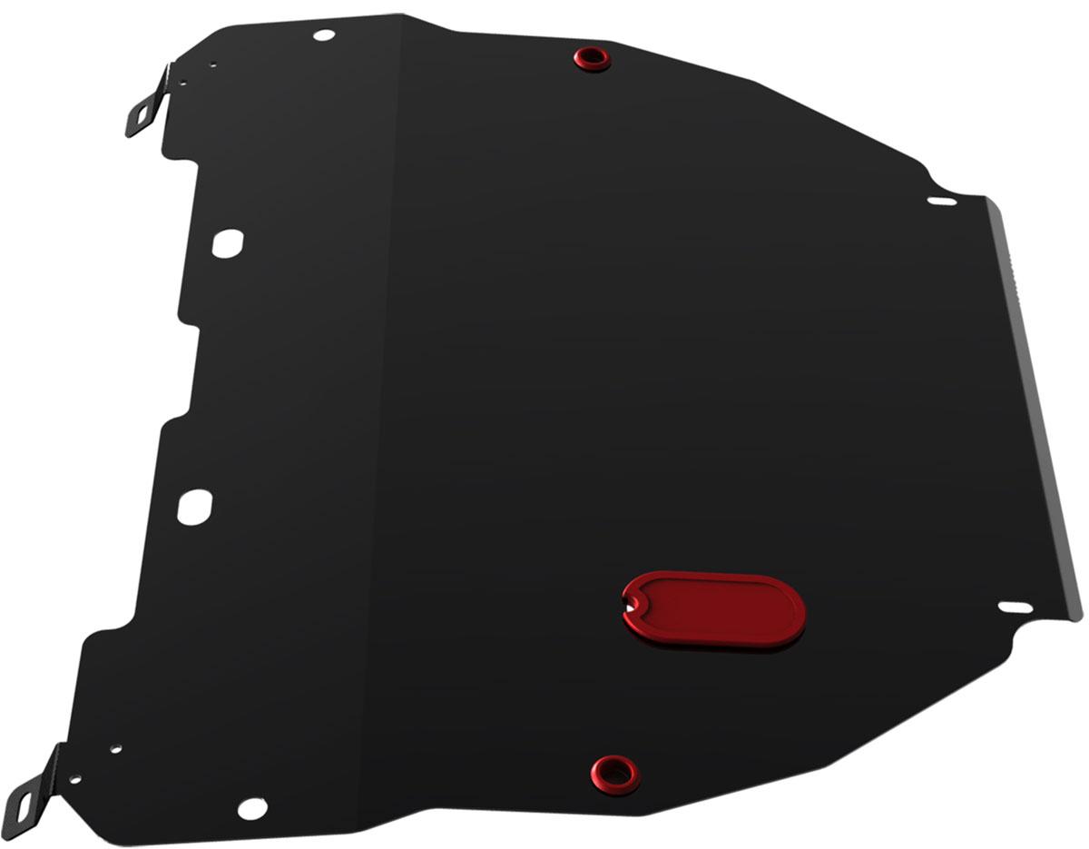 Защита картера и КПП Автоброня, для Hyundai Accent/Hyundai ТАГАЗ Accent. 111.02301.1111.02301.1Технологически совершенный продукт за невысокую стоимость. Защита разработана с учетом особенностей днища автомобиля, что позволяет сохранить дорожный просвет с минимальным изменением. Защита устанавливается в штатные места кузова автомобиля. Глубокий штамп обеспечивает до двух раз больше жесткости в сравнении с обычной защитой той же толщины. Проштампованные ребра жесткости препятствуют деформации защиты при ударах. Тепловой зазор и вентиляционные отверстия обеспечивают сохранение температурного режима двигателя в норме. Скрытый крепеж предотвращает срыв крепежных элементов при наезде на препятствие. Шумопоглощающие резиновые элементы обеспечивают комфортную езду без вибраций и скрежета металла, а съемные лючки для слива масла и замены фильтра - экономию средств и время. Конструкция изделия не влияет на пассивную безопасность автомобиля (при ударе защита не воздействует на деформационные зоны кузова). Со штатным крепежом. В комплекте инструкция по...