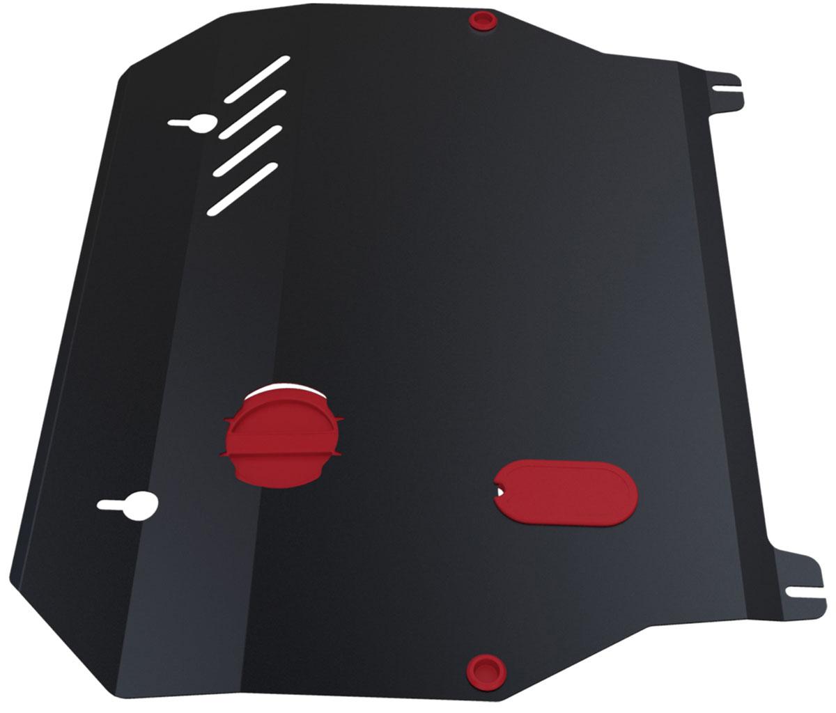 Защита картера и КПП Автоброня, для Hyundai Elantra XD/Hyundai ТагАЗ Elantra XD. 111.02303.1111.02303.1Технологически совершенный продукт за невысокую стоимость. Защита разработана с учетом особенностей днища автомобиля, что позволяет сохранить дорожный просвет с минимальным изменением. Защита устанавливается в штатные места кузова автомобиля. Глубокий штамп обеспечивает до двух раз больше жесткости в сравнении с обычной защитой той же толщины. Проштампованные ребра жесткости препятствуют деформации защиты при ударах. Тепловой зазор и вентиляционные отверстия обеспечивают сохранение температурного режима двигателя в норме. Скрытый крепеж предотвращает срыв крепежных элементов при наезде на препятствие. Шумопоглощающие резиновые элементы обеспечивают комфортную езду без вибраций и скрежета металла, а съемные лючки для слива масла и замены фильтра - экономию средств и время. Конструкция изделия не влияет на пассивную безопасность автомобиля (при ударе защита не воздействует на деформационные зоны кузова). Со штатным крепежом. В комплекте инструкция по...