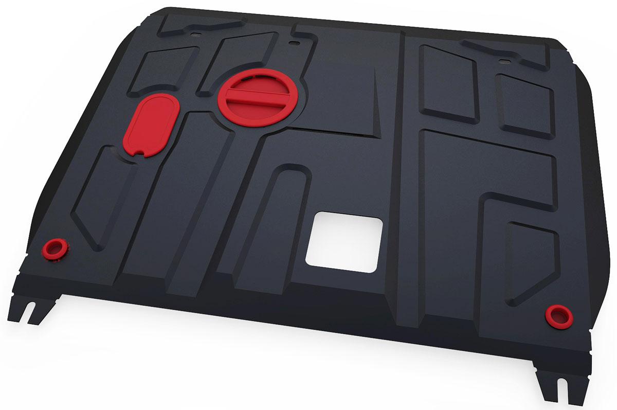 Защита картера и КПП Автоброня, для Hyundai i30/Kia Ceed/Cerato. 111.02350.1111.02350.1Технологически совершенный продукт за невысокую стоимость. Защита разработана с учетом особенностей днища автомобиля, что позволяет сохранить дорожный просвет с минимальным изменением. Защита устанавливается в штатные места кузова автомобиля. Глубокий штамп обеспечивает до двух раз больше жесткости в сравнении с обычной защитой той же толщины. Проштампованные ребра жесткости препятствуют деформации защиты при ударах. Тепловой зазор и вентиляционные отверстия обеспечивают сохранение температурного режима двигателя в норме. Скрытый крепеж предотвращает срыв крепежных элементов при наезде на препятствие. Шумопоглощающие резиновые элементы обеспечивают комфортную езду без вибраций и скрежета металла, а съемные лючки для слива масла и замены фильтра - экономию средств и время. Конструкция изделия не влияет на пассивную безопасность автомобиля (при ударе защита не воздействует на деформационные зоны кузова). Со штатным крепежом. В комплекте инструкция по...