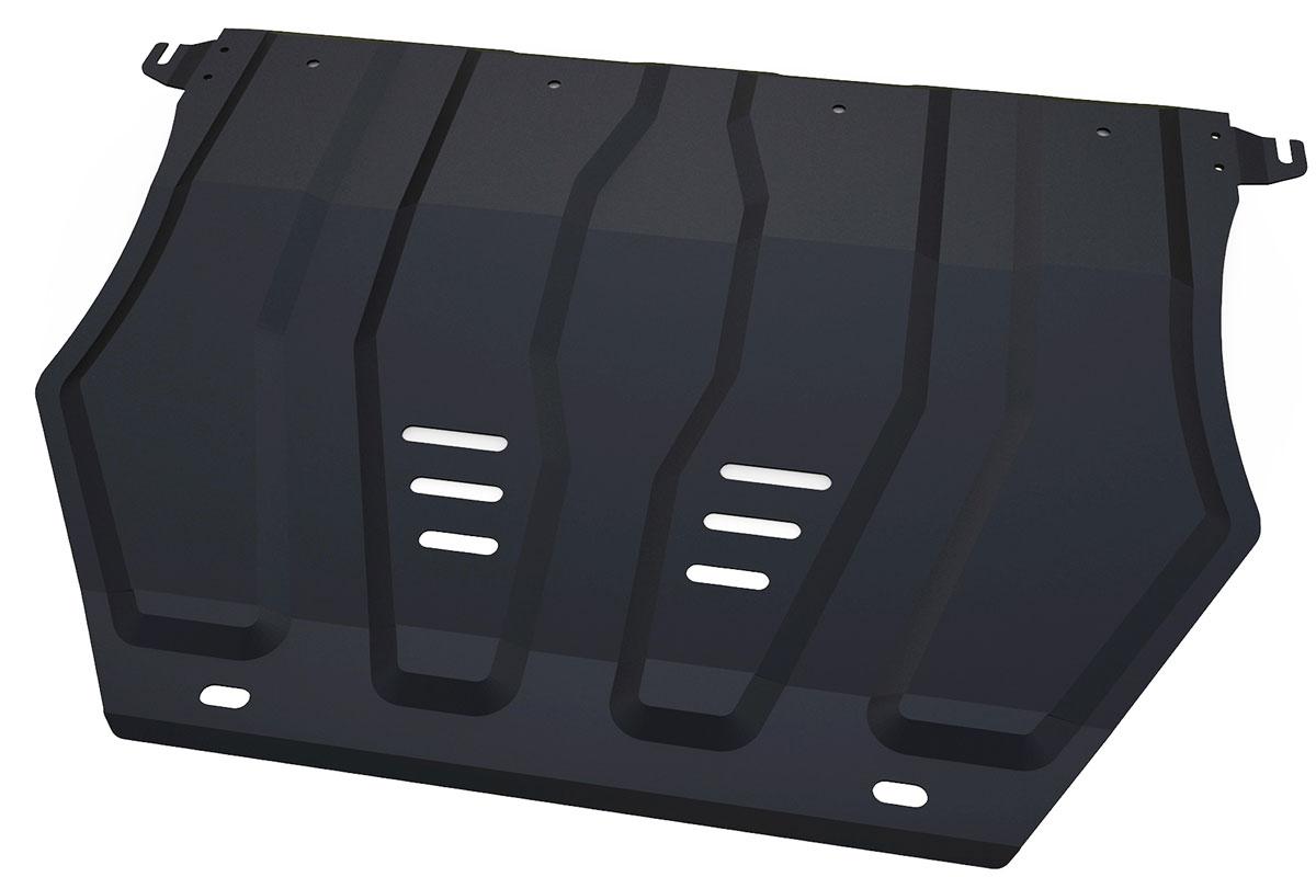 Защита картера и КПП Автоброня, для Mitsubishi Outlander. 111.04036.1111.04036.1Технологически совершенный продукт за невысокую стоимость. Защита разработана с учетом особенностей днища автомобиля, что позволяет сохранить дорожный просвет с минимальным изменением. Защита устанавливается в штатные места кузова автомобиля. Глубокий штамп обеспечивает до двух раз больше жесткости в сравнении с обычной защитой той же толщины. Проштампованные ребра жесткости препятствуют деформации защиты при ударах. Тепловой зазор и вентиляционные отверстия обеспечивают сохранение температурного режима двигателя в норме. Скрытый крепеж предотвращает срыв крепежных элементов при наезде на препятствие. Шумопоглощающие резиновые элементы обеспечивают комфортную езду без вибраций и скрежета металла, а съемные лючки для слива масла и замены фильтра - экономию средств и время. Конструкция изделия не влияет на пассивную безопасность автомобиля (при ударе защита не воздействует на деформационные зоны кузова). Со штатным крепежом. В комплекте инструкция по...