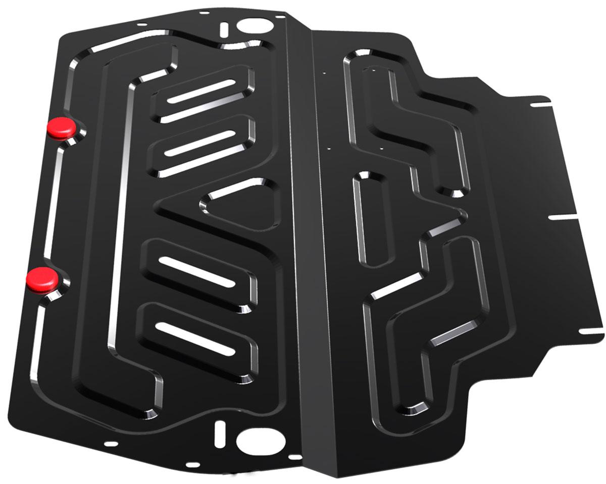 Защита картера и КПП Автоброня, для Skoda/VW/Seat111.05107.1Защита картера и КПП Автоброня выполнена из высококачественной стали с пластиковыми элементами. Глубокий штамп помогает усилить конструкцию. Защита оснащена виброгасящими компенсаторами. Толщина стали: 2 мм. В комплекте набор крепежа.