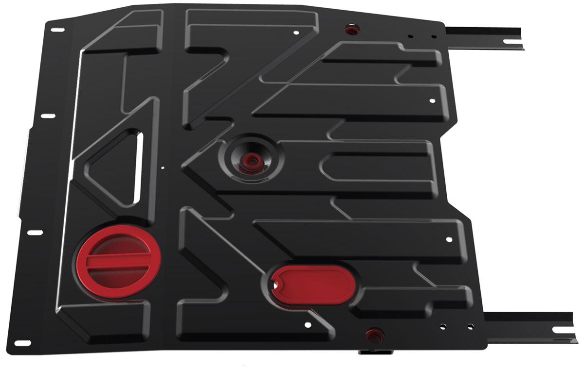 Защита картера и КПП Автоброня, для Fiat Sedici/Suzuki SX4. 111.05505.3111.05505.3Технологически совершенный продукт за невысокую стоимость. Защита разработана с учетом особенностей днища автомобиля, что позволяет сохранить дорожный просвет с минимальным изменением. Защита устанавливается в штатные места кузова автомобиля. Глубокий штамп обеспечивает до двух раз больше жесткости в сравнении с обычной защитой той же толщины. Проштампованные ребра жесткости препятствуют деформации защиты при ударах. Тепловой зазор и вентиляционные отверстия обеспечивают сохранение температурного режима двигателя в норме. Скрытый крепеж предотвращает срыв крепежных элементов при наезде на препятствие. Шумопоглощающие резиновые элементы обеспечивают комфортную езду без вибраций и скрежета металла, а съемные лючки для слива масла и замены фильтра - экономию средств и время. Конструкция изделия не влияет на пассивную безопасность автомобиля (при ударе защита не воздействует на деформационные зоны кузова). Со штатным крепежом. В комплекте инструкция по...