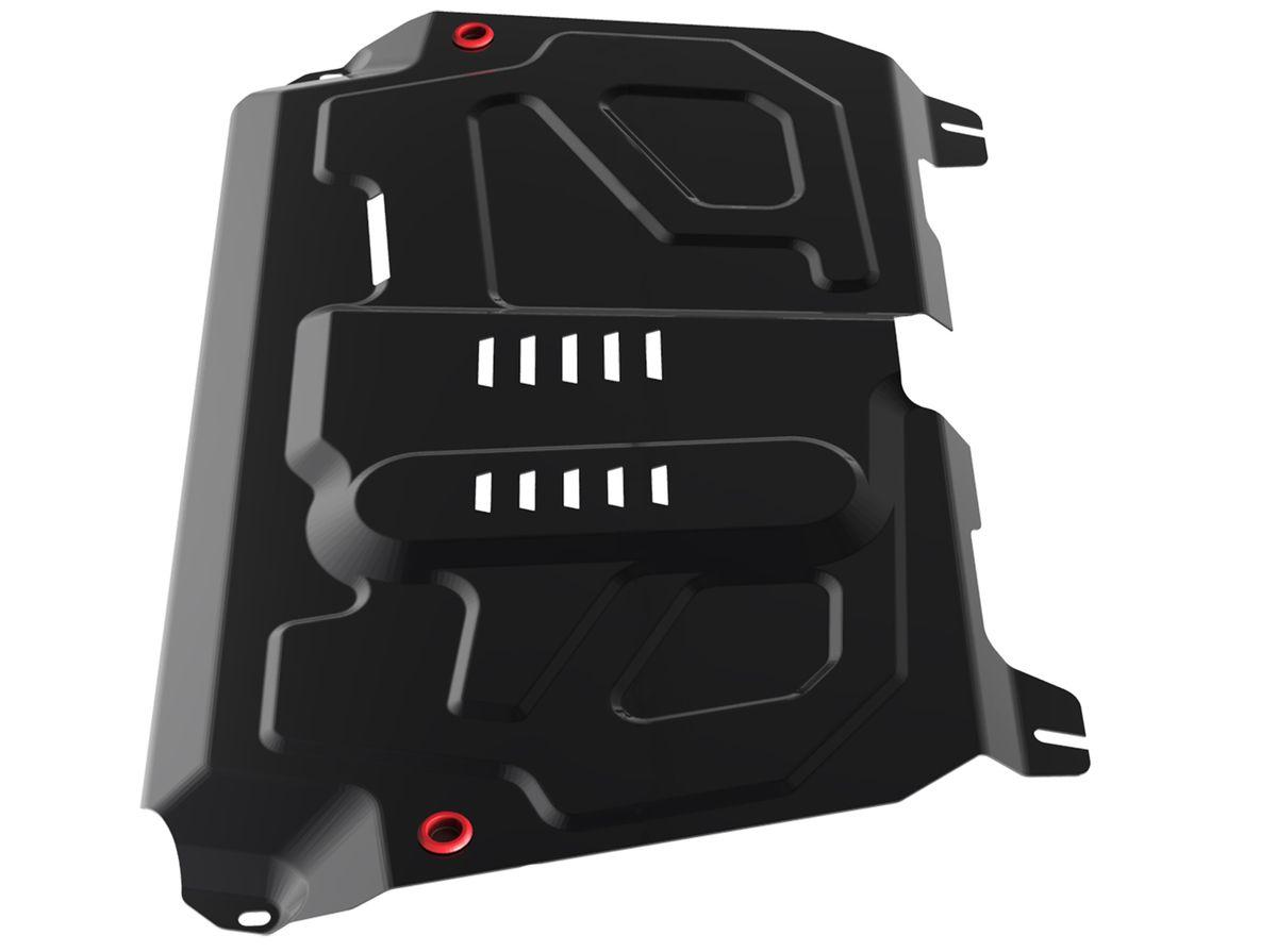Защита картера и КПП Автоброня, для Toyota/Lexus111.05797.1Технологически совершенный продукт за невысокую стоимость. Защита разработана с учетом особенностей днища автомобиля, что позволяет сохранить дорожный просвет с минимальным изменением. Защита устанавливается в штатные места кузова автомобиля. Глубокий штамп обеспечивает до двух раз больше жесткости в сравнении с обычной защитой той же толщины. Проштампованные ребра жесткости препятствуют деформации защиты при ударах. Тепловой зазор и вентиляционные отверстия обеспечивают сохранение температурного режима двигателя в норме. Скрытый крепеж предотвращает срыв крепежных элементов при наезде на препятствие. Шумопоглощающие резиновые элементы обеспечивают комфортную езду без вибраций и скрежета металла, а съемные лючки для слива масла и замены фильтра - экономию средств и время. Конструкция изделия не влияет на пассивную безопасность автомобиля (при ударе защита не воздействует на деформационные зоны кузова). Со штатным крепежом. В комплекте инструкция по...