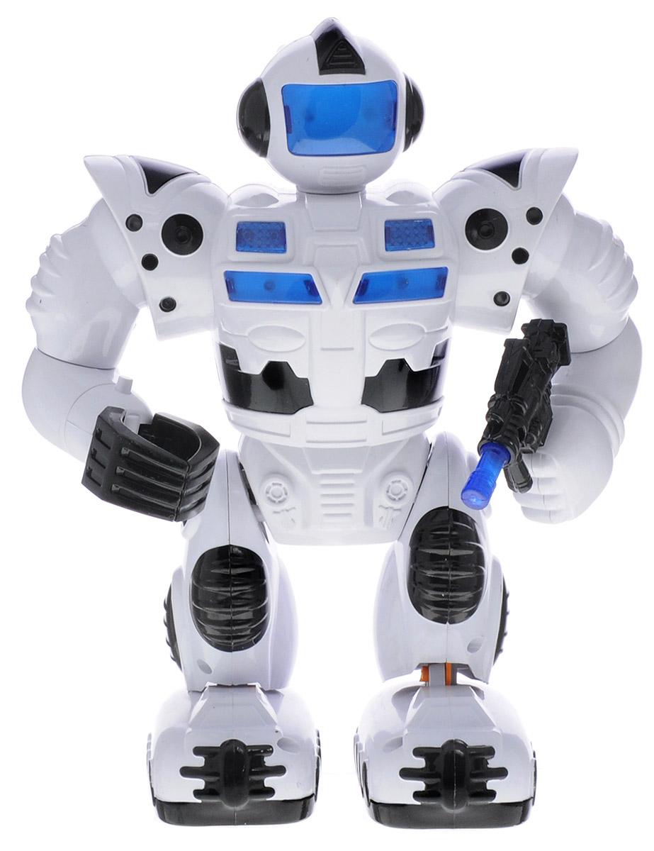 ABtoys Робот с бластером цвет белый