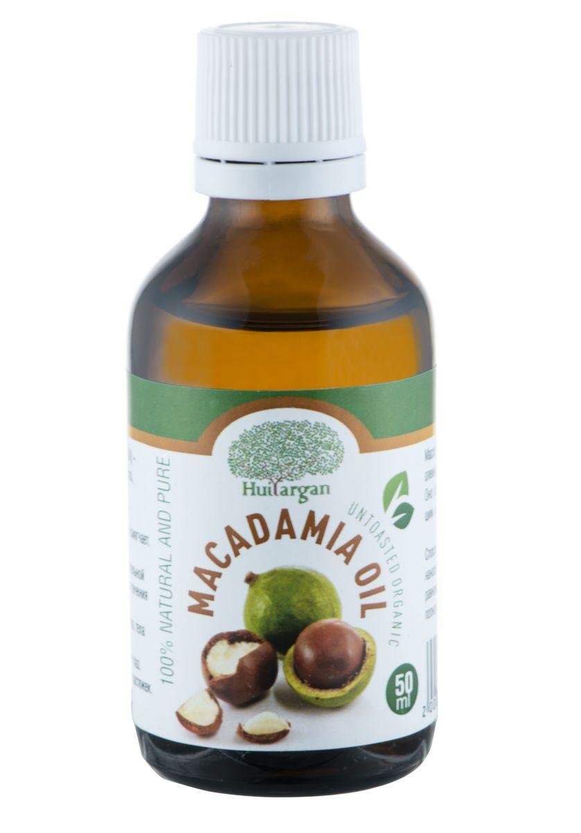 Huilargan Масло Макадамия, 100% органическое, 50 мл2000000008639Масло Макадамия (Macadamia Oil) - 100% чистое и натуральное масло, холодного отжима. - Восстанавливает, питает, защищает и смягчает. - Способствует заживлению ожогов. - Рекомендуется для нежной, чувствительной кожи. Идеально для сухой кожи, для лечения трещин. - Используется для ухода за кожей лица, тела и за волосами. - Подходит для ухода за кожей вокруг глаз. - Рекомендуется для предотвращения растяжек. Масло макадамии богато содержанием олеиновой и пальметиновой кислотами. Оно обладает питательным, ухаживающим и смягчающим действием.
