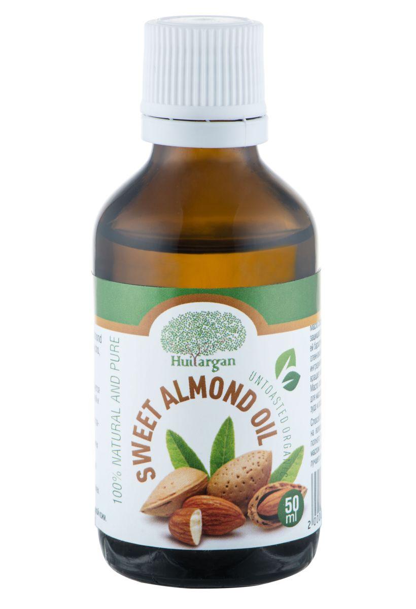 Huilargan Масло сладкого миндаля, 100% натуральное, 50 мл2000000008660Масло сладкого миндаля (Sweet almond oil) - 100% чистое, натуральное масло, первого холодного отжима, без химической обработки. - Масло сладкого миндаля широко используется для успокоения раздраженной, обветренной и сухой кожи. - Восстанавливает эластичность кожи и разглаживает эпидермис. - Это эффективное средство против растяжек на груди и трещин на коже рук. - Гипоаллергенно, можно использовать для чувствительной кожи вокруг глаз. - Это эффективное средство против растяжек на груди и трещин на коже рук. - Особенно подходит для сухой и очень сухой кожи. Масло сладкого миндаля смягчает кожу и защищает ее от повышенной сухости, придавая ей бархатную структуру, благодаря содержанию олеиновой кислоты и смягчающим активным ингредиентам. Ускоряет рост волос и предотвращает их выпадение. Масло сладкого миндаля используется также для массажа, для успокоения кожи и снятия зуда и раздражения.