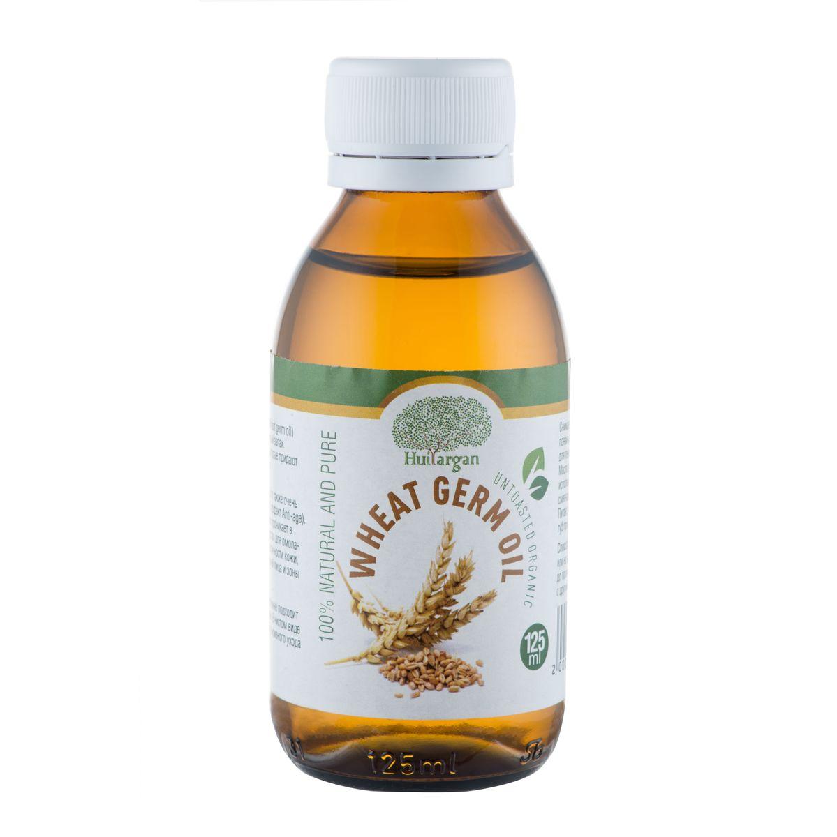 Huilargan Масло зародышей пшеницы, 100% органическое, 125 мл2000000008806Масло зародышей пшеницы (Wheat germ oil) имеет очень приятный солнечный запах. Оно содержит каротиноиды, которые придают ему его красивый желтый цвет. Богато кислотами омега-3, 6. Это также очень важный источник витамина Е ( эффект Anti-age). За счет того, что масло глубоко проникает в клетки кожи это отличное средство для омолаживания и восстановления эластичности кожи, рекомендуется для ухода за кожей лица и зоны декольте. Хорошо питает и защищает, особенно подходит для обезвоженной и сухой кожи. В чистом виде это идеальное средство для интенсивного ухода за потрескавшейся кожей. Снимает воспаления, которые могут появиться на коже. Прекрасно подходит для лечения угрей и прыщей на коже. Масло зародышей пшеницы может использоваться для снятия макияжа и как смягчающее средство для кожи лица и тела. Питает, тонизирует и защищает кожу рук и губ при холодной погоде.