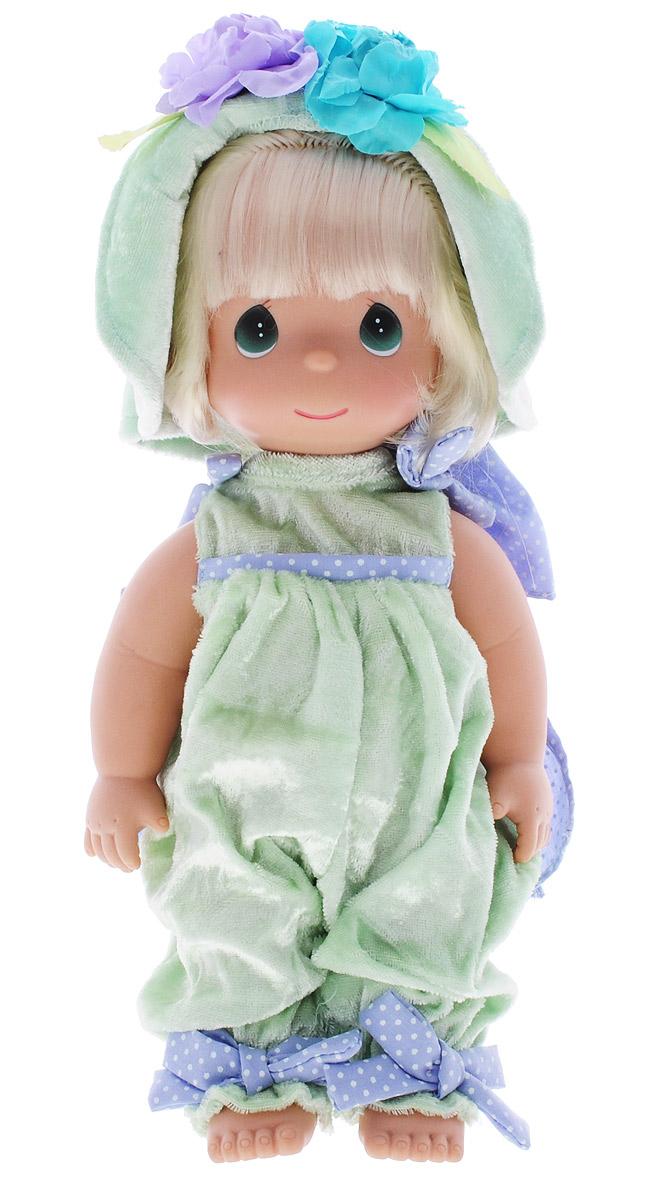 Precious Moments Кукла Анютины глазки4781Коллекция кукол Precious Moments ростом выше 30 см насчитывает на сегодняшний день более 600 видов. Куклы изготавливаются из качественного, безопасного материала и имеют пять базовых точек артикуляции. Каждый год в коллекцию добавляются все новые и новые модели. Каждая кукла имеет свой неповторимый образ и характер. Она может быть подарком на память о каком- либо событии в жизни. Куклы выполнены с любовью и нежностью, которую дарит нам известная волшебница - создатель кукол Линда Рик! Милая кукла Анютины глазки станет отличным подарком для любой девочки на день рождения или другой праздник. Девочка одета в нарядный костюм. Длинные светлые волосы заплетены в косу и украшены бантом. На милом личике большие зеленые глаза. Одежда куколки съемная. Кукла научит ребенка взаимодействовать с окружающими, а также поспособствует развитию воображения, логики и тактильного восприятия. Порадуйте свою принцессу таким великолепным подарком!