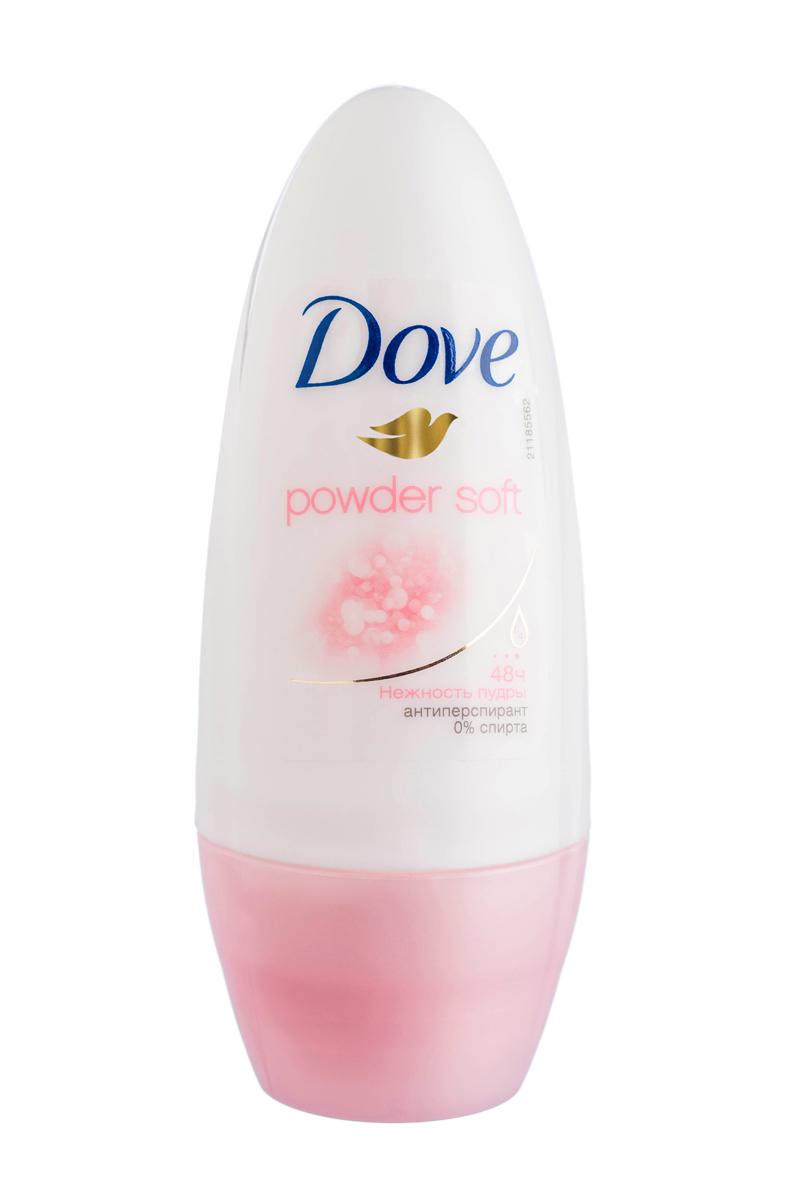 Dove Антиперспирант ролл Нежность пудры 50 мл21187270Антиперсипрант Dove Нежность пудры - обеспечивает защиту от пота на 48 часов и на 1/4 состоит из особенного увлажняющего крема, который способствует восстановлению кожи после бритья, делая ее более гладкой и нежной -Обеспечивает заботу Вашей коже и обладает нежным и утонченным пудровым ароматом