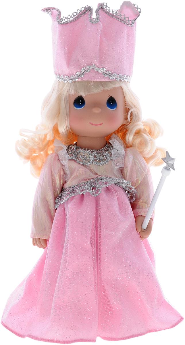 Precious Moments Кукла Волшебница4756Коллекция кукол Precious Moments ростом выше 30 см насчитывает на сегодняшний день более 600 видов. Куклы изготавливаются из качественного, безопасного материала и имеют пять базовых точек артикуляции. Каждый год в коллекцию добавляются все новые и новые модели. Каждая кукла имеет свой неповторимый образ и характер. Она может быть подарком на память о каком-либо событии в жизни. Куклы выполнены с любовью и нежностью, которую дарит нам известная волшебница - создатель кукол Линда Рик! Кукла Волшебница исполнит любые ваши желания. Она одета в розовое платье, усыпанное блестками, сверкающий головной убор и розовые туфельки. У куклы светлые волнистые волосы и большие синие глаза. В руке девочка держит волшебную палочку. Игра с куклой разовьет в вашей малышке чувство ответственности и заботы. Порадуйте свою принцессу таким великолепным подарком!