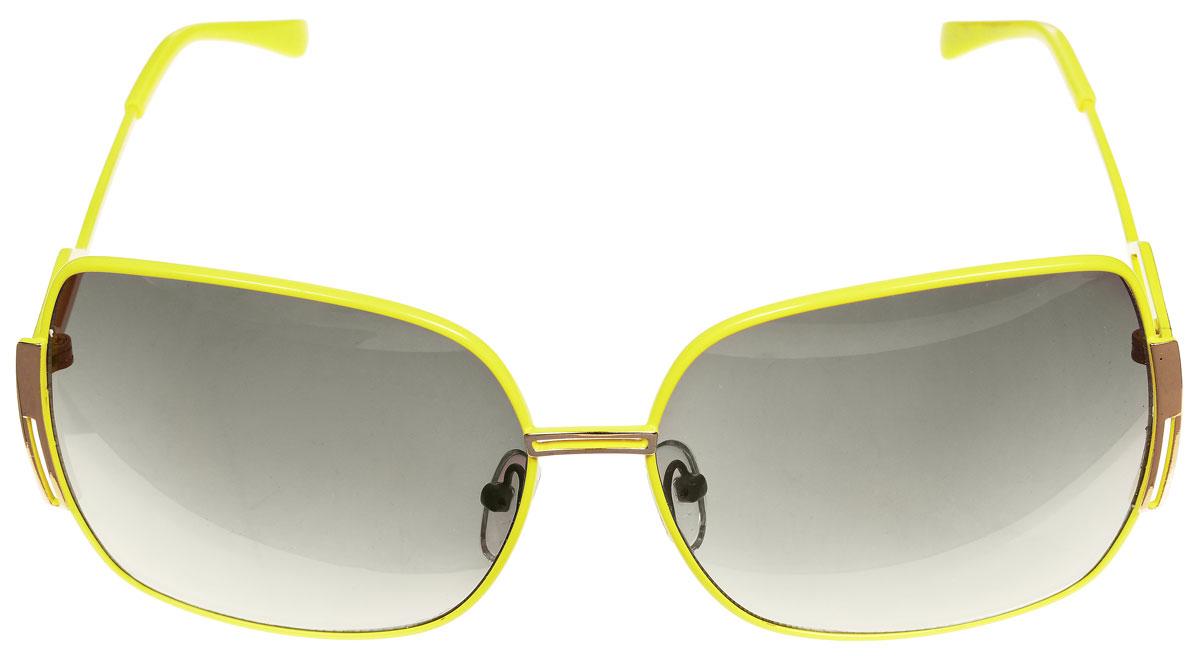 Очки солнцезащитные женские Baon, цвет: желтый. B965027B965027Солнцезащитные очки Baon с линзами из высококачественного пластика, оправа оформлена декоративными элементами из металла. Используемый пластик не искажает изображение, не подвержен нагреванию и вредному воздействию солнечных лучей, защищает от бликов, повышает контрастность и четкость изображения, снижает усталость глаз и обеспечивает отличную видимость. Линзы имеют степень затемнения Cat. 2. Оправа очков легкая, прилегающей формы, дополнена носоупорами и поэтому не создает никакого дискомфорта. Такие очки защитят глаза от ультрафиолетовых лучей, подчеркнут вашу индивидуальность и сделают ваш образ завершенным.