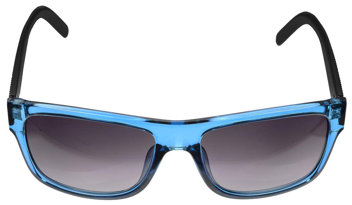 Очки солнцезащитные женские Baon, цвет: синий, черный. B965024B965024Солнцезащитные очки Baon с линзами из высококачественного пластика, дужки очков оформлены декоративной фактурой и элементами из металла. Используемый пластик не искажает изображение, не подвержен нагреванию и вредному воздействию солнечных лучей, защищает от бликов, повышает контрастность и четкость изображения, снижает усталость глаз и обеспечивает отличную видимость. Линзы имеют степень затемнения Cat. 2. Пластиковая оправа очков легкая, прилегающей формы и поэтому не создает никакого дискомфорта. Такие очки защитят глаза от ультрафиолетовых лучей, подчеркнут вашу индивидуальность и сделают ваш образ завершенным.