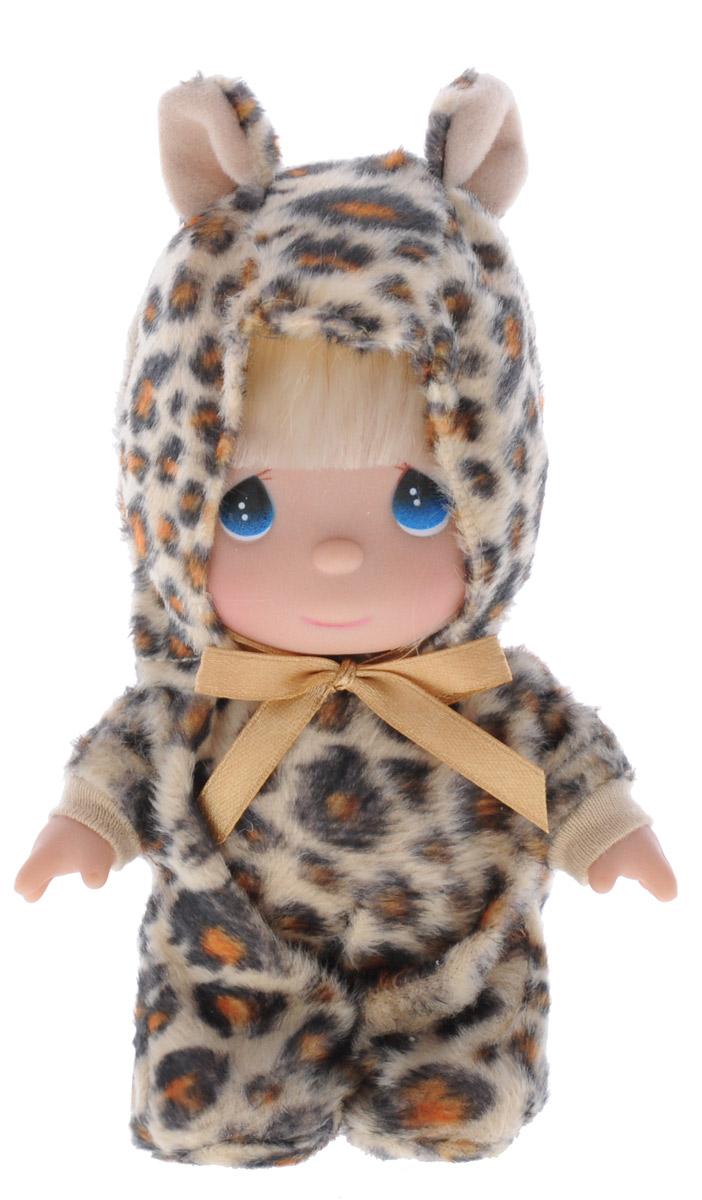 Precious Moments Мини-кукла Леопардик5362Какие же милые эти куколки Precious Moments. Создатель этих очаровательных крошек настоящая волшебница - Линда Рик - оживила свои творения, каждая кукла обрела свой милый и неповторимый образ. Эти крошки могут сопровождать вас в чудесных странствиях и сделать каждый момент вашей жизни незабываемым! Мини-кукла Леопардик одета в костюм леопардовой расцветки. На голове у нее капюшон с ушками, а сзади забавный хвостик. У девочки большие синие глаза и светлые волосы. Благодаря играм с куклой, ваша малышка сможет развить фантазию и любознательность, овладеть навыками общения и научиться ответственности. Порадуйте свою принцессу таким прекрасным подарком!