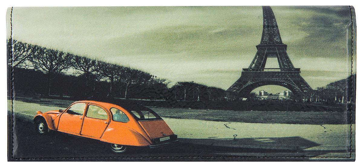 Портмоне женское Flioraj Париж, цвет: красный, белый, черный. 0005094000050940Элегантный портмоне Flioraj выполнен из натуральной кожи с красочным фотопринтом. Кошелек закрывается широким клапаном на кнопку. Внутри имеется пять отделений для купюр и бумаг, карман для мелочи на застежке-молнии, шесть наборных карманов для кредитных карт или визиток. На внешней стороне расположен карман для мелких бумаг. Такое портмоне станет отличным подарком для человека, ценящего качественные и необычные вещи. Портмоне упаковано в картонную коробку с логотипом фирмы. B>Характеристики: Материал: натуральная кожа, металл, текстиль. Размер кошелька: 18 см x 9 см х 2 см. Цвет: красный, белый, черный. Размер упаковки: 20 см х 12 см х 3 см. Производитель: Россия. Артикул: 00050940