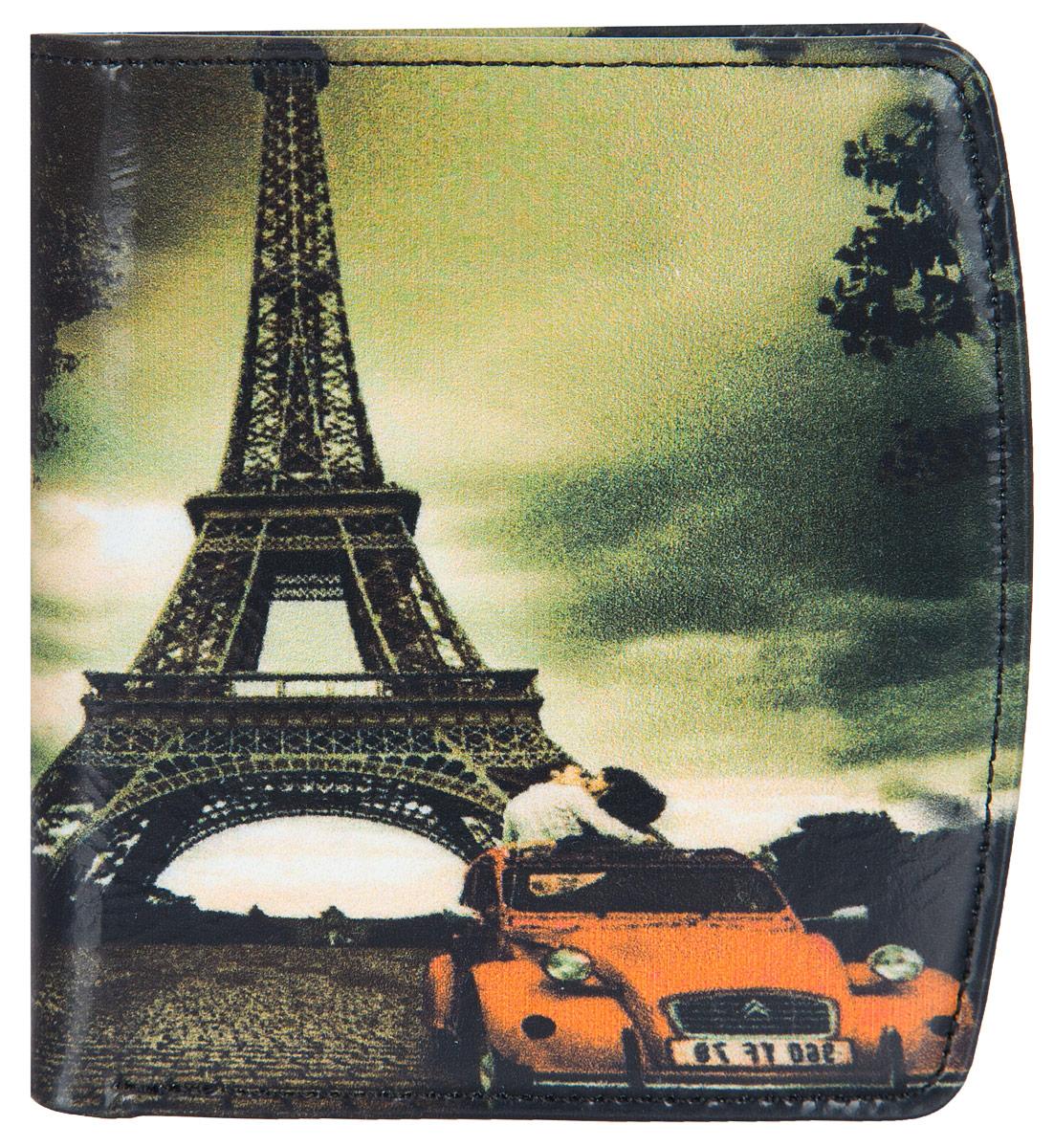 Портмоне женское Flioraj Париж, цвет: белый, оранжевый, черный. 0005094500050945Портмоне женское складное с фотопринтом, закрывается на внутреннюю магнитную кнопку. Внутри наборная визитница, евромонетник и два отделения для купюр. На клапане евромонетника марочник с прозрачным пластиком. Превосходный кошелек Flioraj станет великолепным выбором для вашего стиля. Изделие сделано из натуральной кожи с красочным фотопринтом. Этот товар будет отличным приобретением для вас или станет отличным презентом для ваших друзей и близких. Портмоне упаковано в коробку из плотного картона с логотипом фирмы.