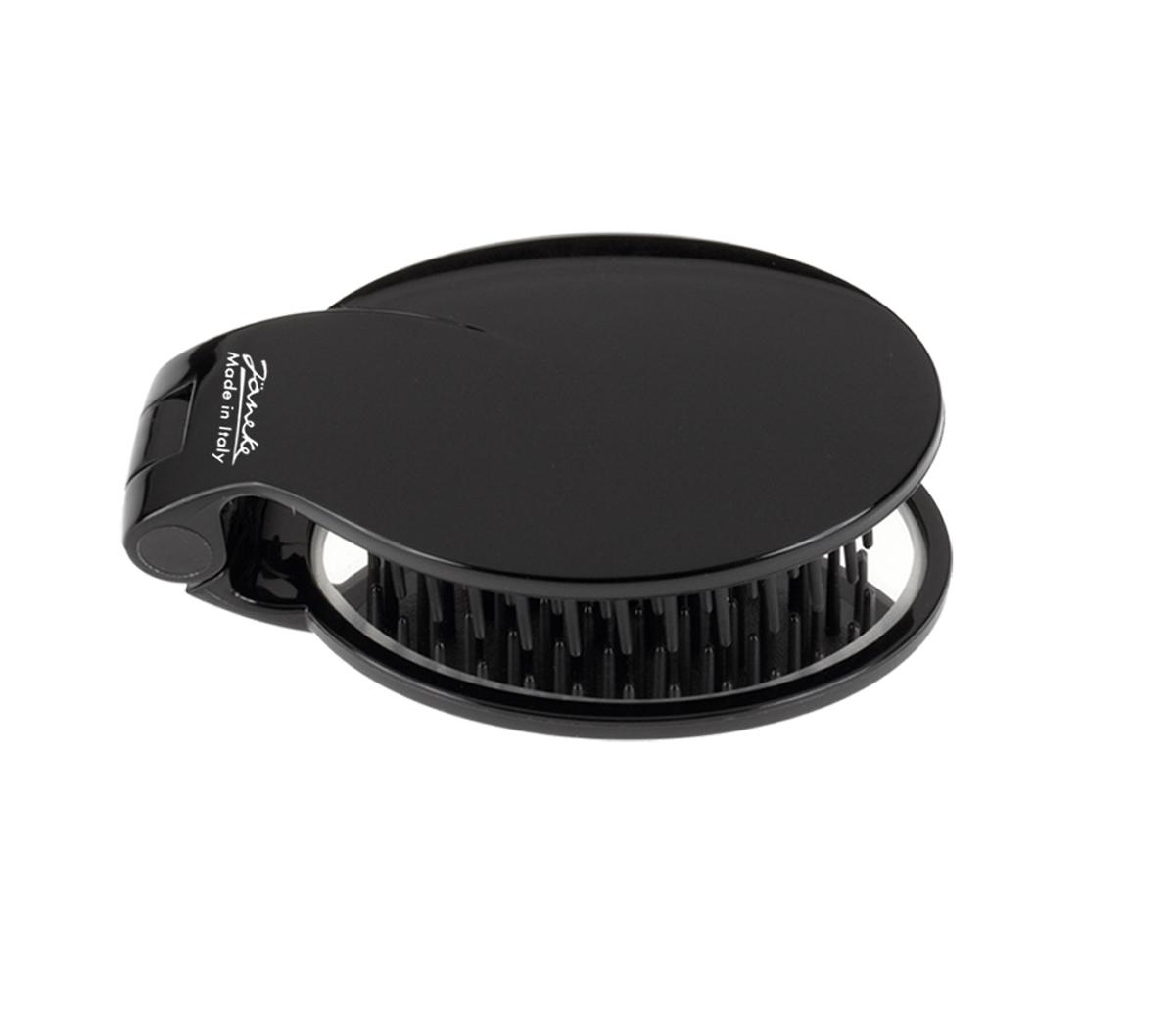 Janeke Щетка массажная, SP03 NER772294Марка Janeke – мировой лидер по производству расчесок, щеток, маникюрных принадлежностей, зеркал и косметичек. Марка Janeke, основанная в 1830 году, вот уже почти 180 лет поддерживает непревзойденное качество своей продукции, сочетая новейшие технологии с традициями старых миланских мастеров. Все изделия на 80% производятся вручную, а инновационные технологии и современные материалы делают продукцию марки поистине уникальной. Стильный и эргономичный дизайн, яркие цветовые решения – все это приносит истинное удовольствие от использования аксессуаров Janeke. Пластиковая линия из высококачественного сырья, большое разнообразие моделей и цветов, кончик расчески специально закруглен, чтобы предотвратить разрыв волоса