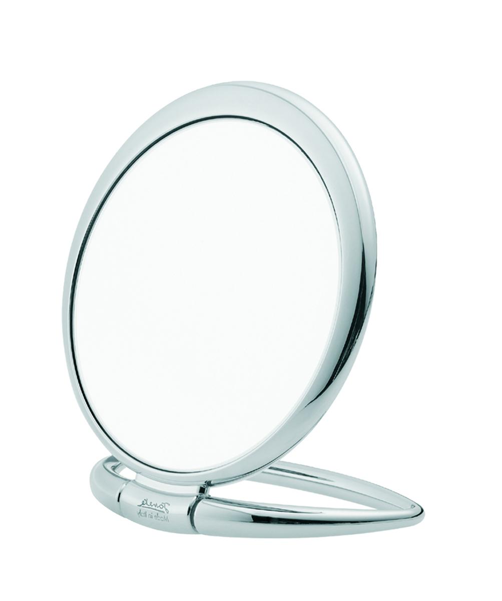 Janeke Зеркало настольное D130, линзы ZEISS, хромированное, CR444.3.573247Марка Janeke – мировой лидер по производству расчесок, щеток, маникюрных принадлежностей, зеркал и косметичек. Марка Janeke, основанная в 1830 году, вот уже почти 180 лет поддерживает непревзойденное качество своей продукции, сочетая новейшие технологии с традициями ста- рых миланских мастеров. Все изделия на 80% производятся вручную, а инновационные технологии и современные материалы делают продукцию марки поистине уникальной. Стильный и эргономичный дизайн, яркие цветовые решения – все это приносит истин- ное удовольствие от использования аксессуаров Janeke. Зеркала для дома итальянской марки Janeke, изготовленные из высококачественных материалов и выполненные в оригинальном стильном дизайне, дополнят любой интерьер. Односторонние или двусторонние, с увеличением и без, на красивых и удобных подс- тавках – зеркала Janeke прослужат долго и доставят истинное удо- вольствие от использования