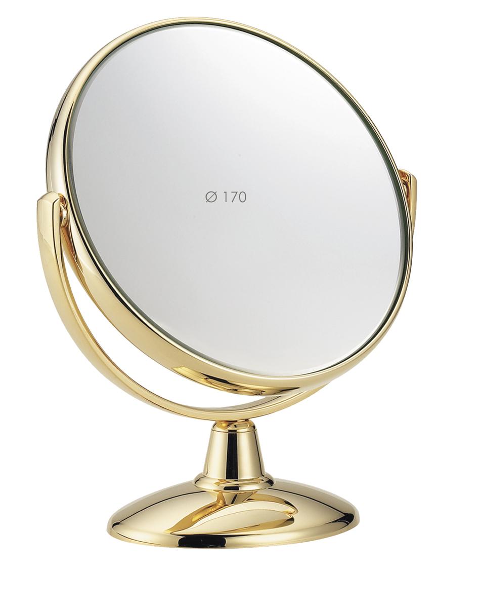 Janeke Зеркало настольное, D170, линзы ZEISS, позолоченное, AU496.3583187Марка Janeke – мировой лидер по производству расчесок, щеток, маникюрных принадлежностей, зеркал и косметичек. Марка Janeke, основанная в 1830 году, вот уже почти 180 лет поддерживает непревзойденное качество своей продукции, сочетая новейшие технологии с традициями ста- рых миланских мастеров. Все изделия на 80% производятся вручную, а инновационные технологии и современные материалы делают продукцию марки поистине уникальной. Стильный и эргономичный дизайн, яркие цветовые решения – все это приносит истин- ное удовольствие от использования аксессуаров Janeke. Зеркала для дома итальянской марки Janeke, изготовленные из высококачественных материалов и выполненные в оригинальном стильном дизайне, дополнят любой интерьер. Односторонние или двусторонние, с увеличением и без, на красивых и удобных подс- тавках – зеркала Janeke прослужат долго и доставят истинное удо- вольствие от использования