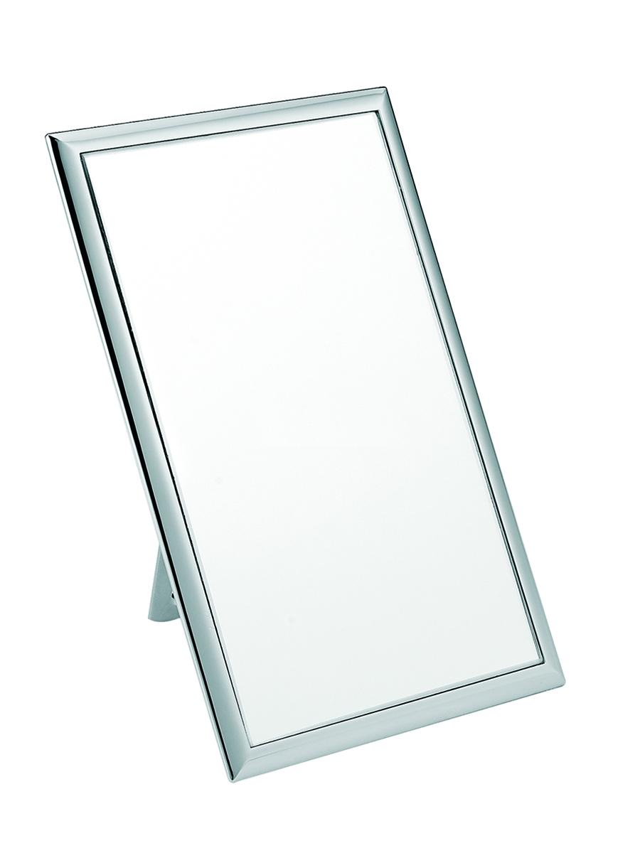 Janeke Зеркало настольное 120*190, линзы ZEISS, хромированный металл,, CR477583195Марка Janeke – мировой лидер по производству расчесок, щеток, маникюрных принадлежностей, зеркал и косметичек. Марка Janeke, основанная в 1830 году, вот уже почти 180 лет поддерживает непревзойденное качество своей продукции, сочетая новейшие технологии с традициями ста- рых миланских мастеров. Все изделия на 80% производятся вручную, а инновационные технологии и современные материалы делают продукцию марки поистине уникальной. Стильный и эргономичный дизайн, яркие цветовые решения – все это приносит истин- ное удовольствие от использования аксессуаров Janeke. Зеркала для дома итальянской марки Janeke, изготовленные из высококачественных материалов и выполненные в оригинальном стильном дизайне, дополнят любой интерьер. Односторонние или двусторонние, с увеличением и без, на красивых и удобных подс- тавках – зеркала Janeke прослужат долго и доставят истинное удо- вольствие от использования