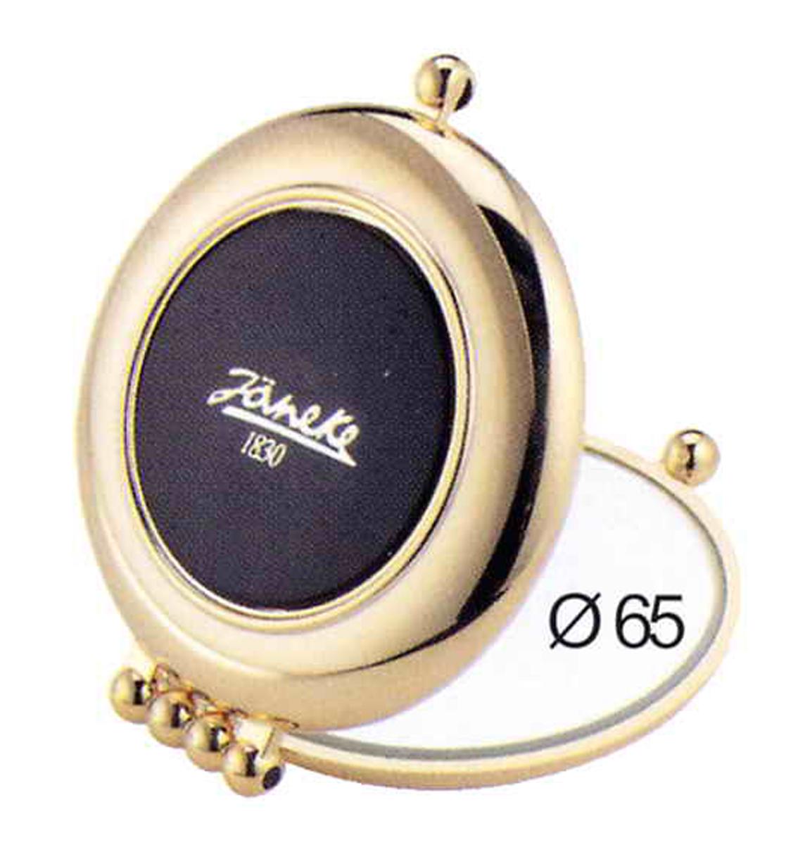 Janeke Зеркало карманное, линзы ZEISS, позолоченное, AU484.3 NER.579733Марка Janeke – мировой лидер по производству расчесок, щеток, маникюрных принадлежностей, зеркал и косметичек. Марка Janeke, основанная в 1830 году, вот уже почти 180 лет поддерживает непревзойденное качество своей продукции, сочетая новейшие технологии с традициями ста- рых миланских мастеров. Все изделия на 80% производятся вручную, а инновационные технологии и современные материалы делают продукцию марки поистине уникальной. Стильный и эргономичный дизайн, яркие цветовые решения – все это приносит истин- ное удовольствие от использования аксессуаров Janeke. Компактные зеркала Janeke имеют линзы с обычным и трехкратным увеличением, которые позволяют быстро и легко поправить макияж в дороге. А благодаря стильному дизайну и миниатюрному размеру компактное зеркало Janeke станет любимым аксессуаром любой женщины.